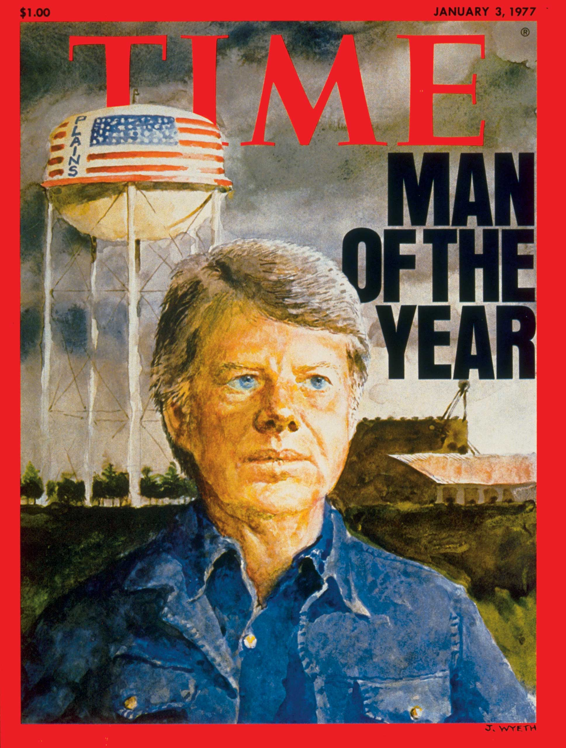 1976: President Jimmy Carter