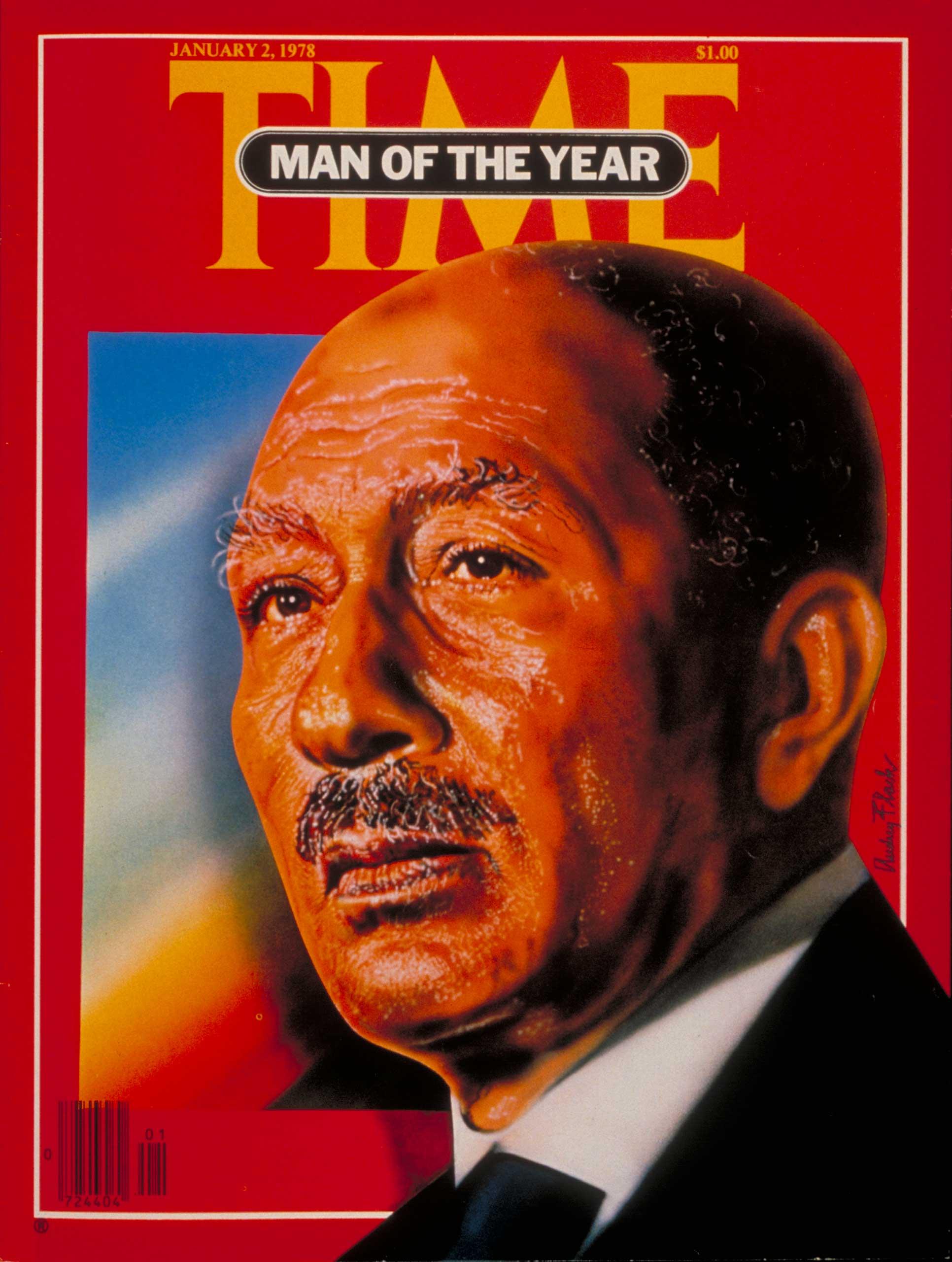 1977: Anwar Sadat