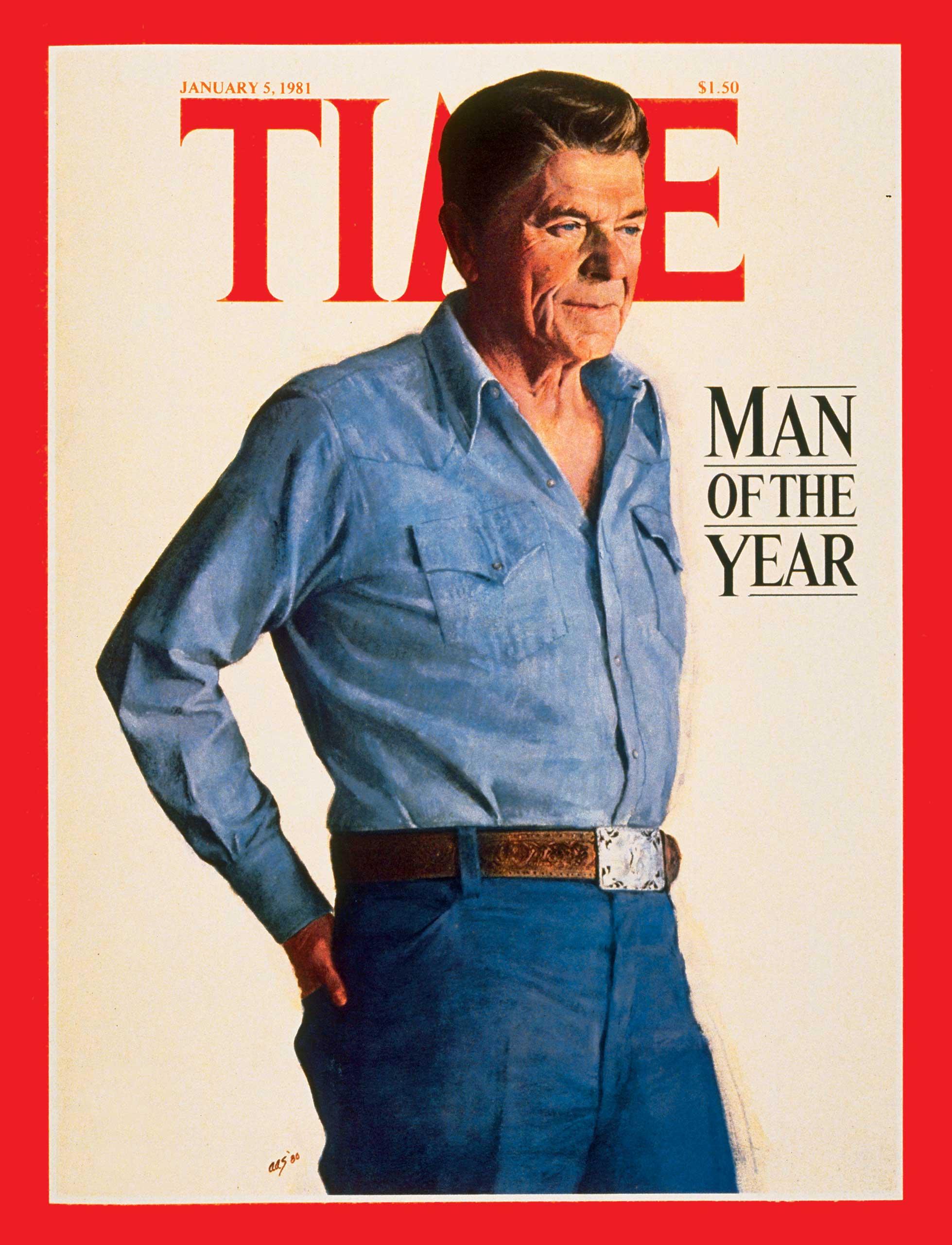 1980: President Ronald Reagan