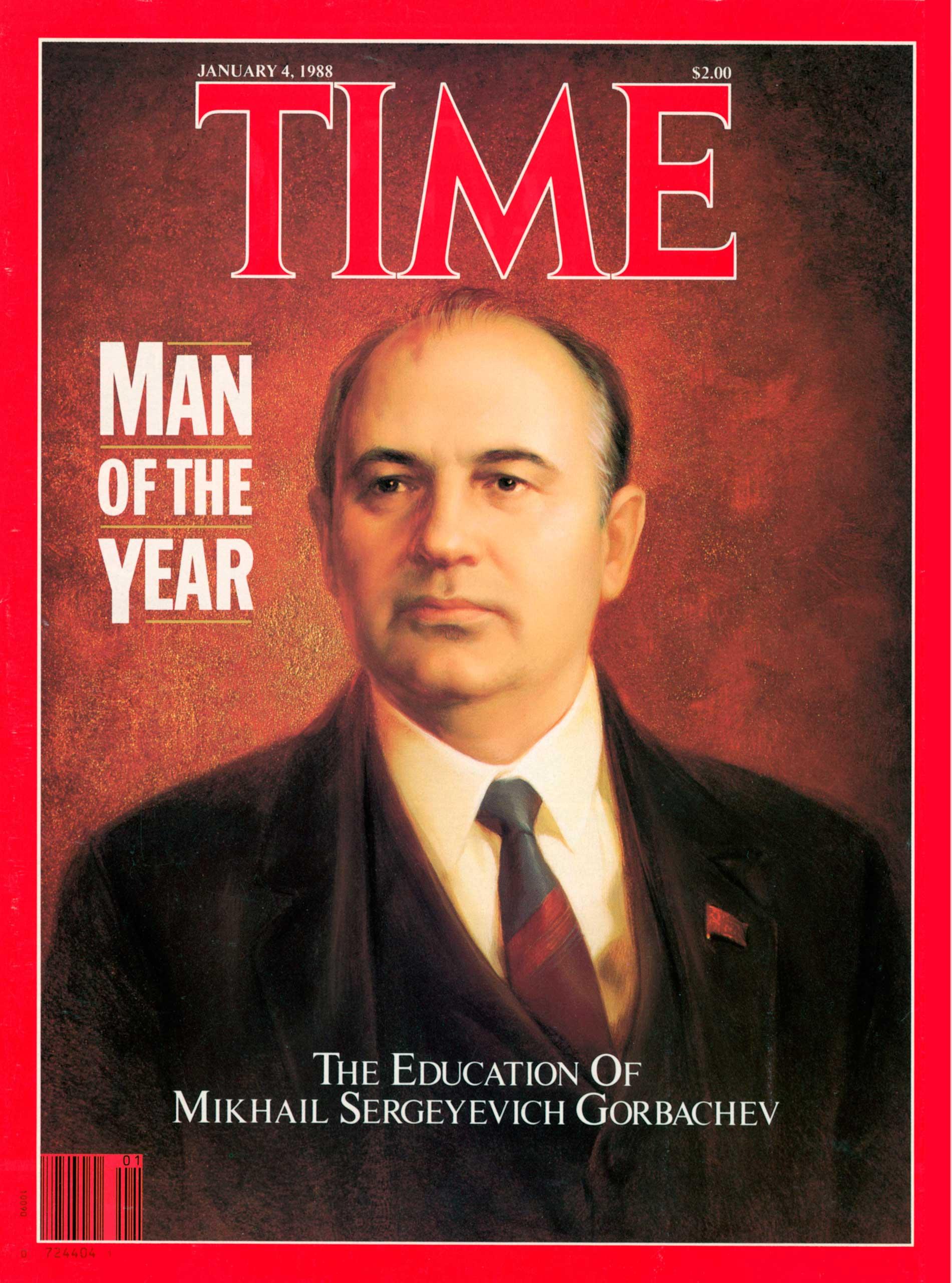 1987: Mikhail Gorbachev