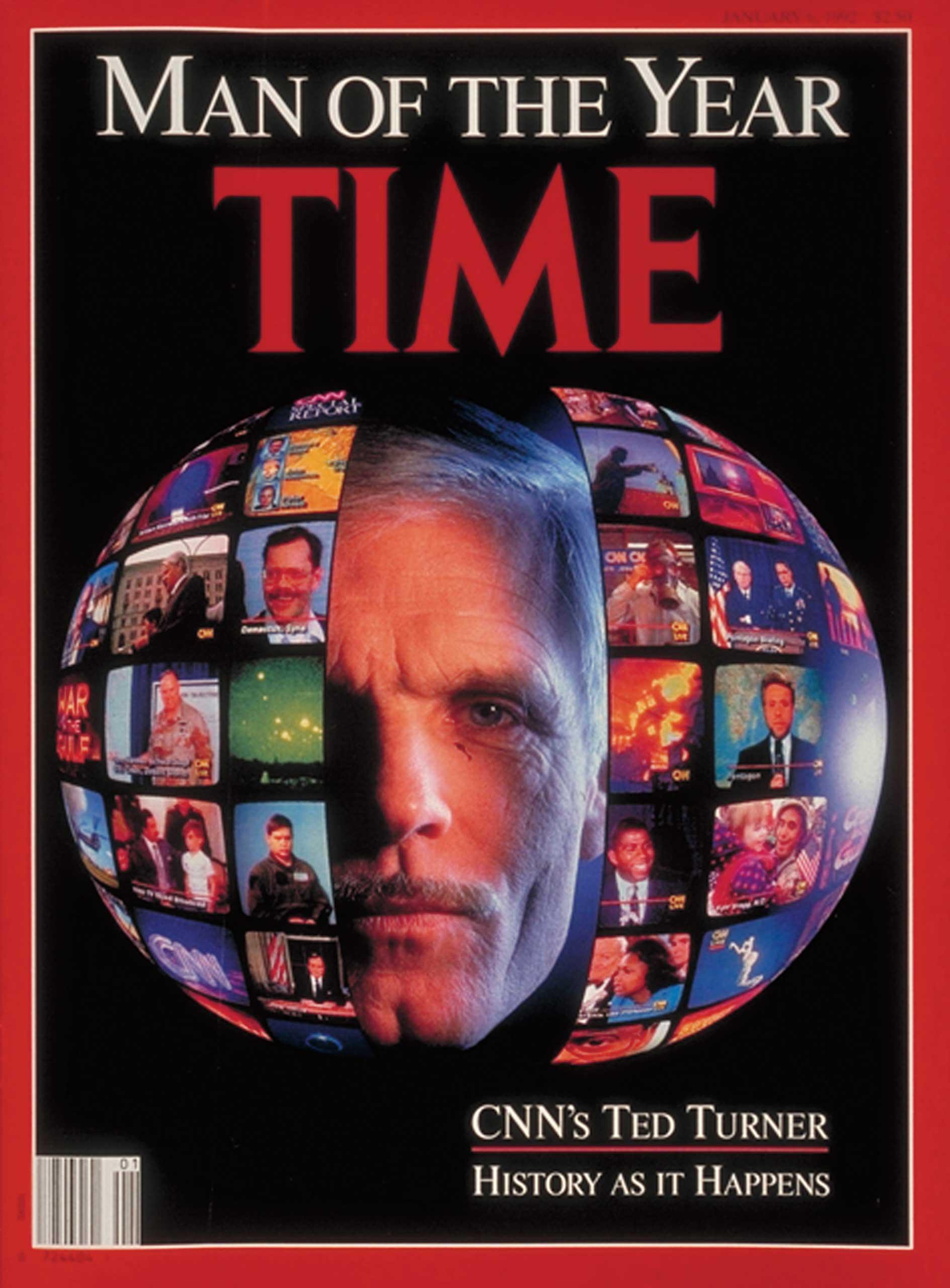 1991: Ted Turner