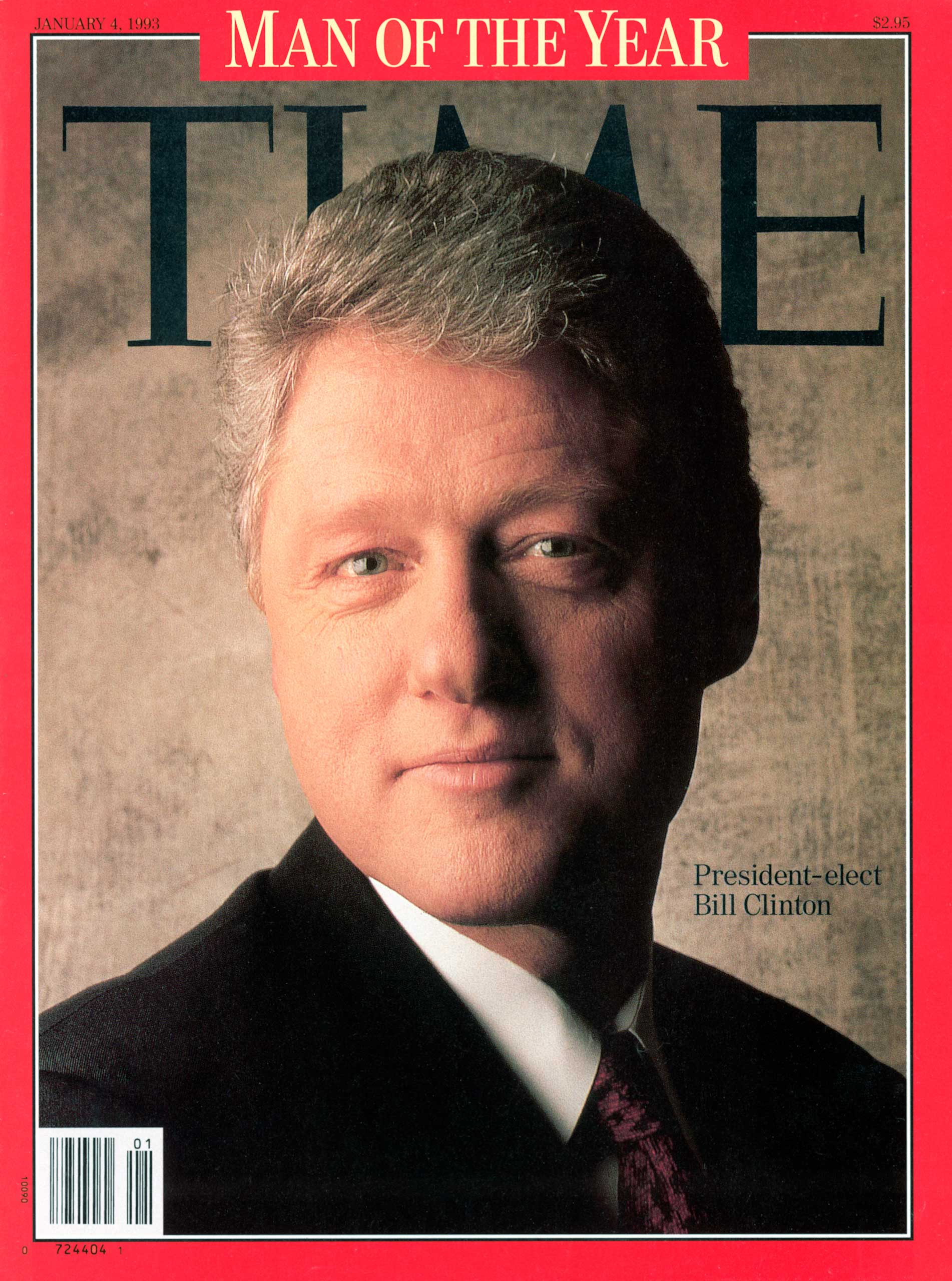 1992: President Bill Clinton