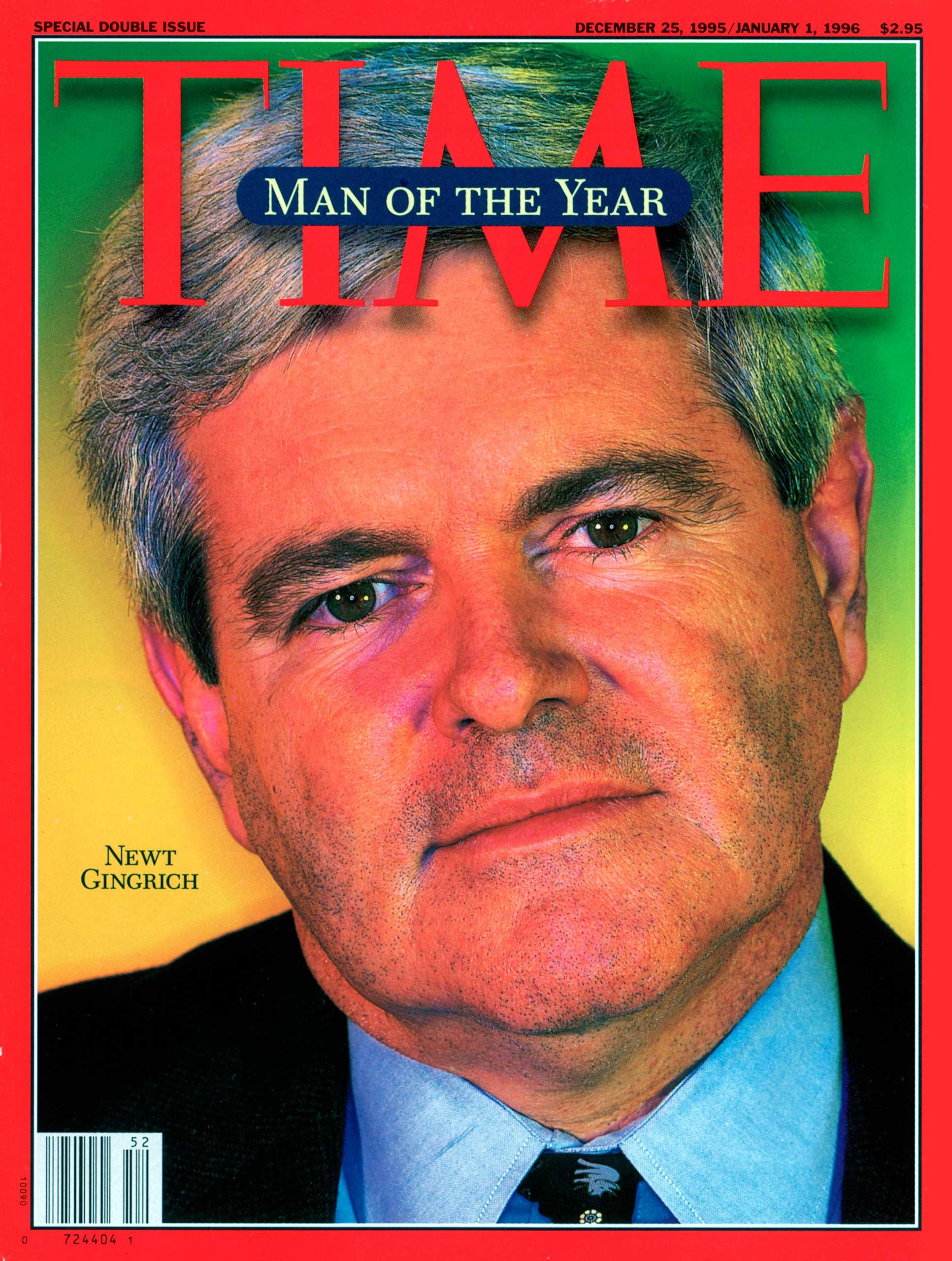 1995: Newt Gingrich