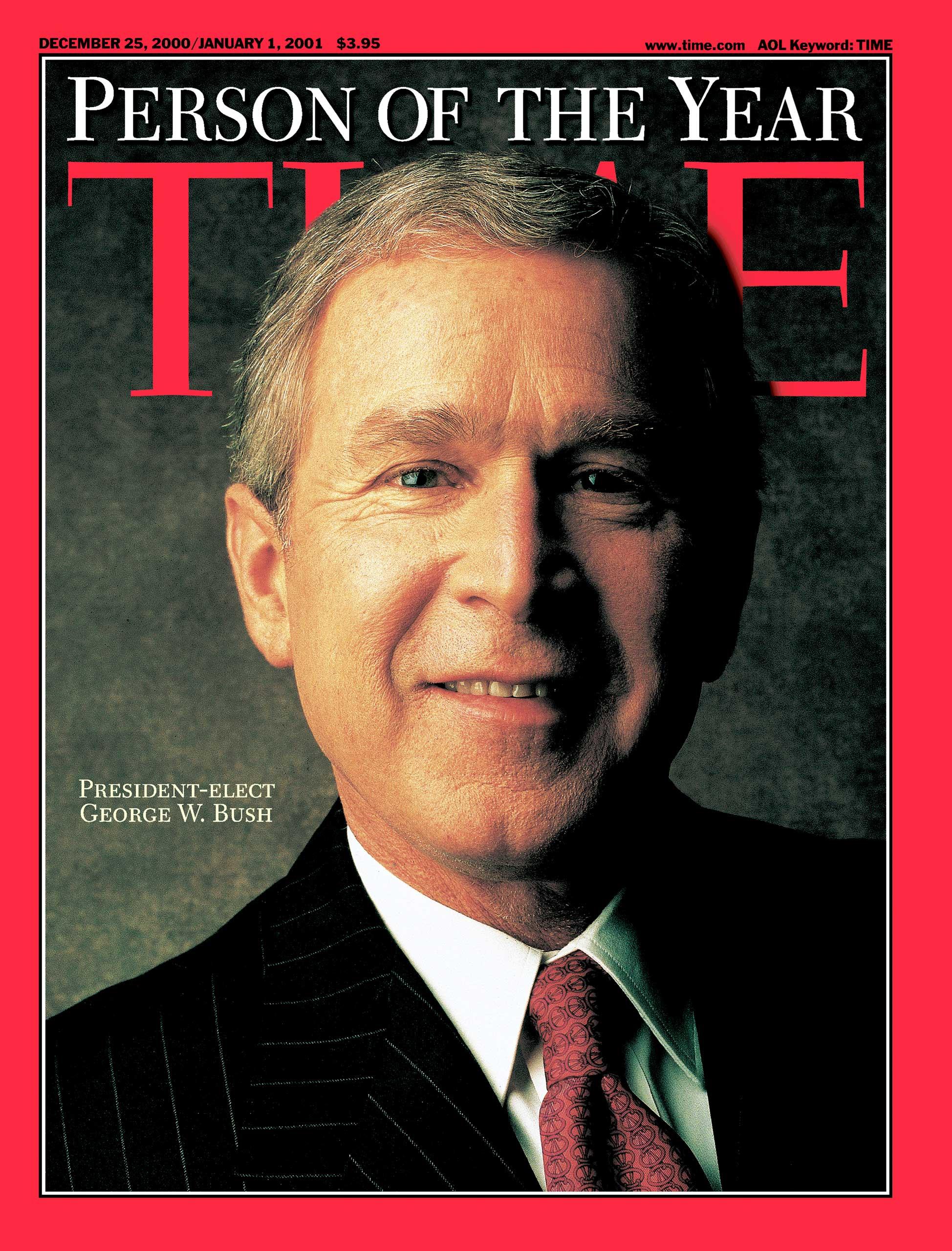 2000: President George W. Bush