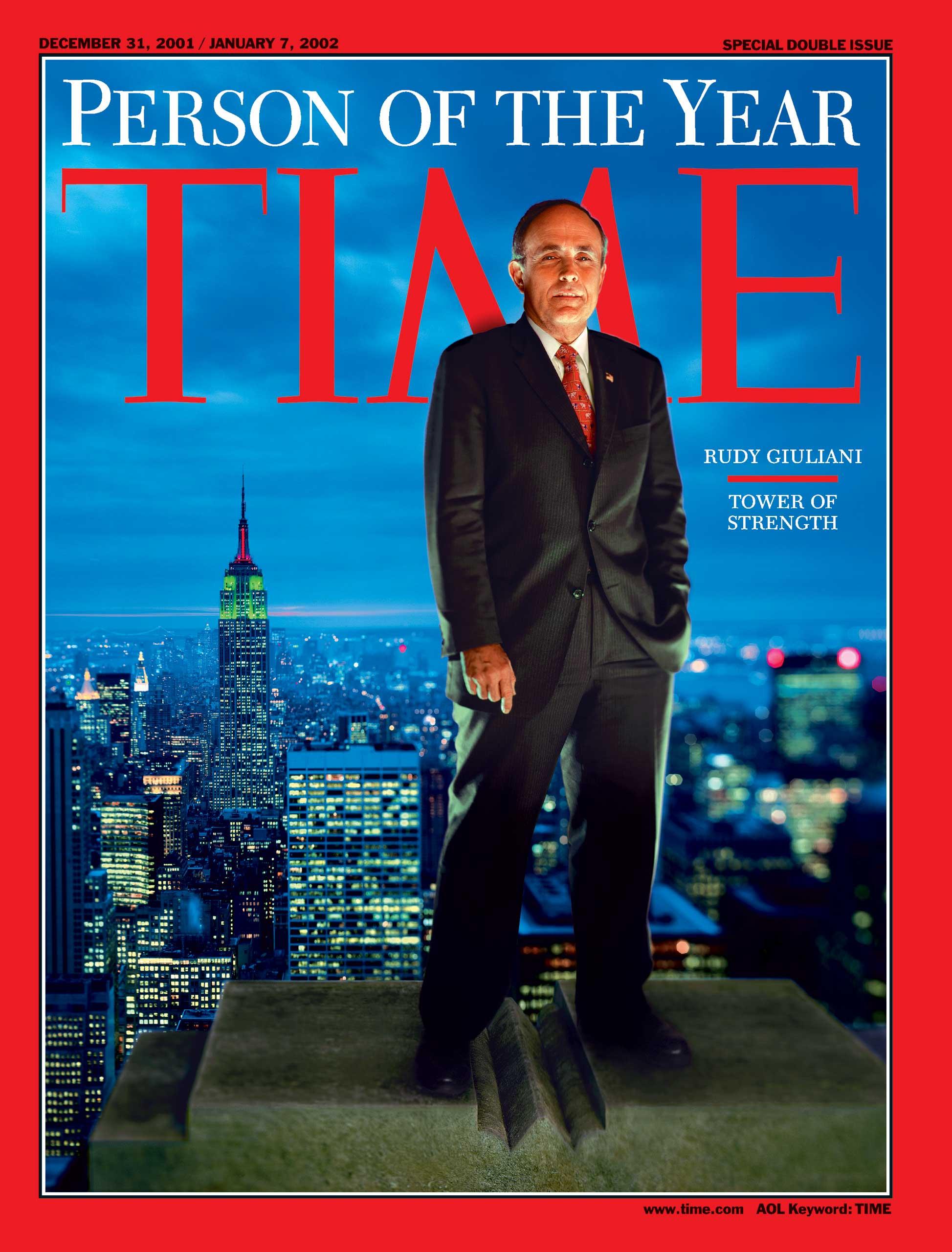 2001: Rudy Giuliani