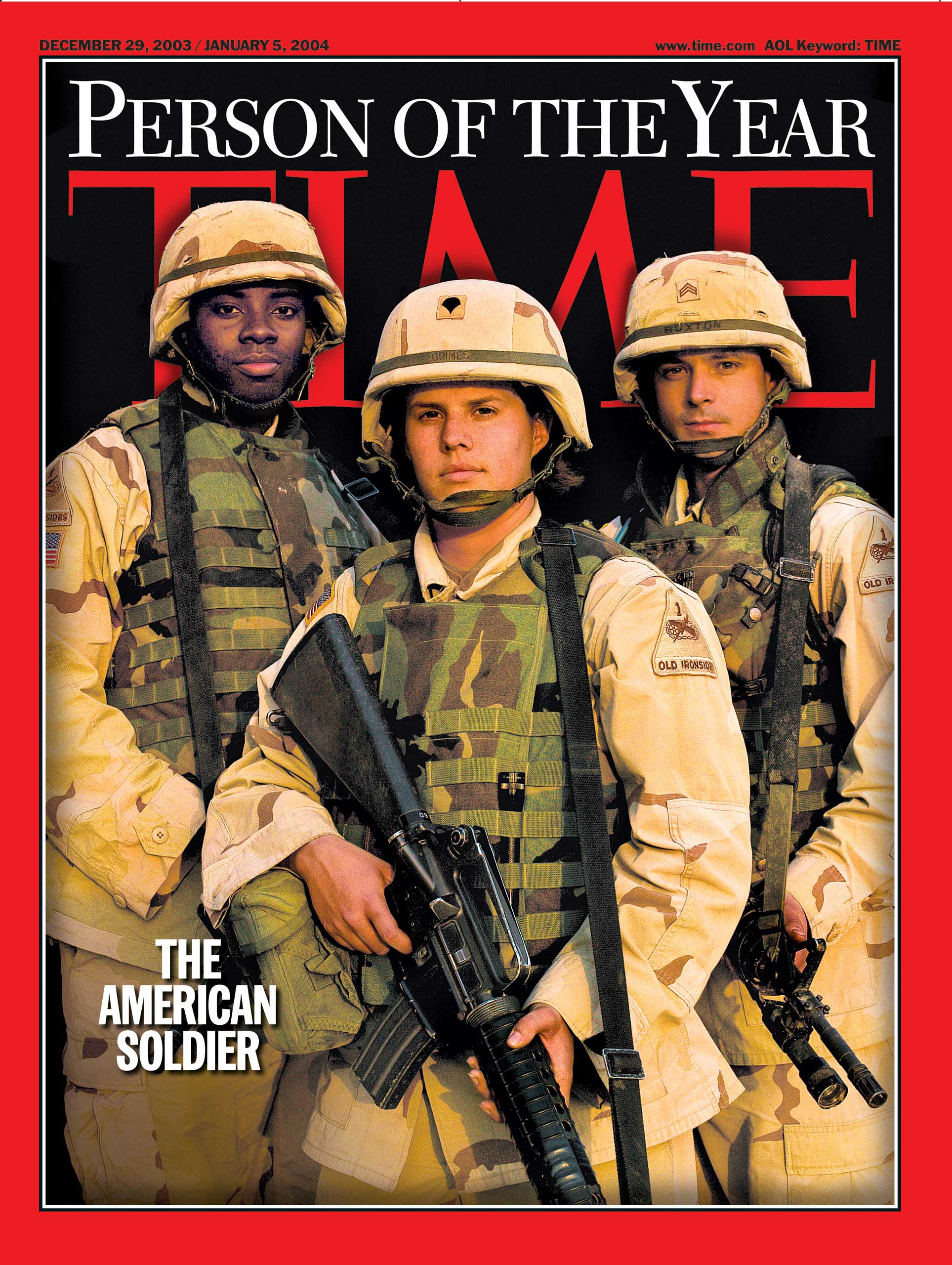 2003: The American Soldier