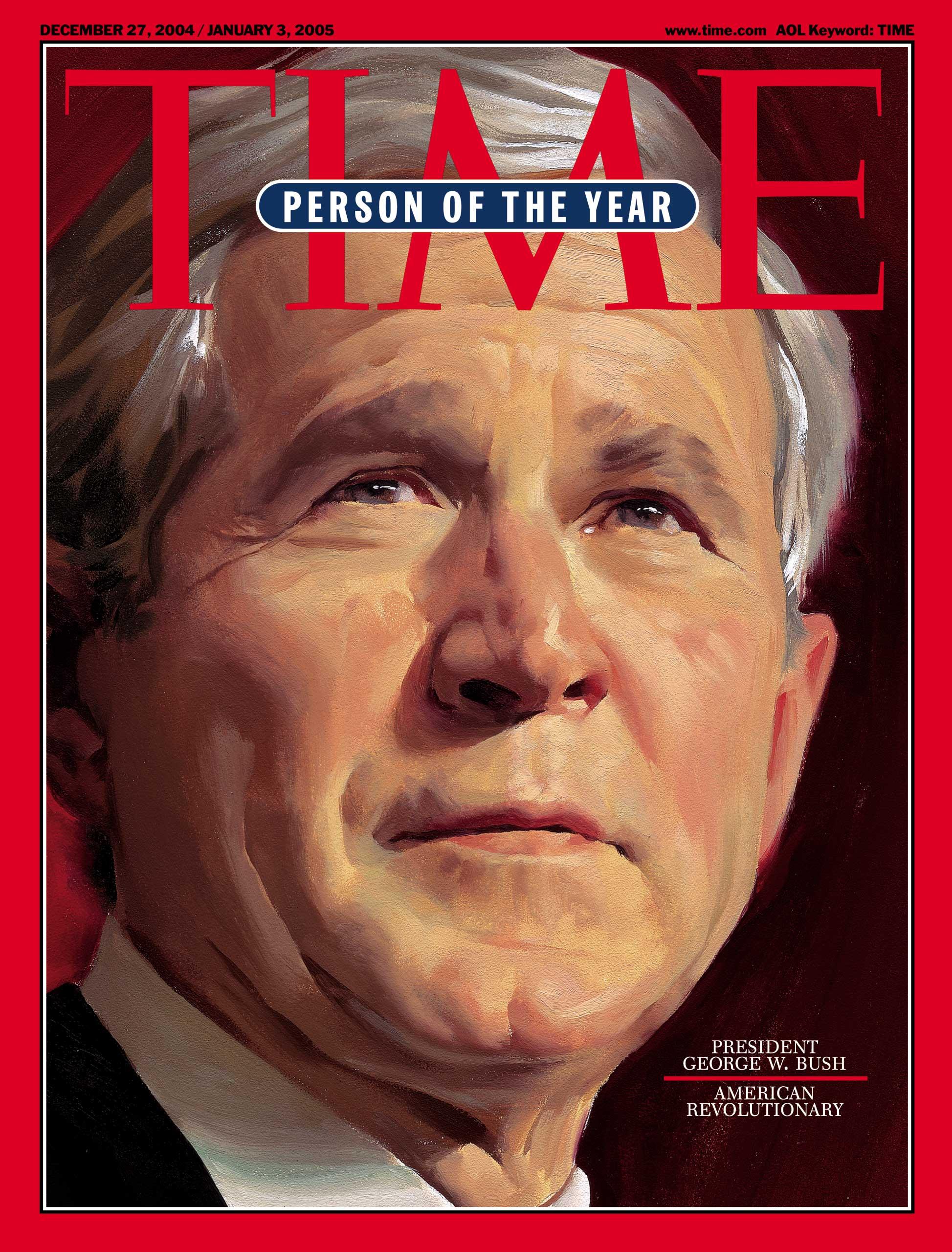 2004: President George W. Bush