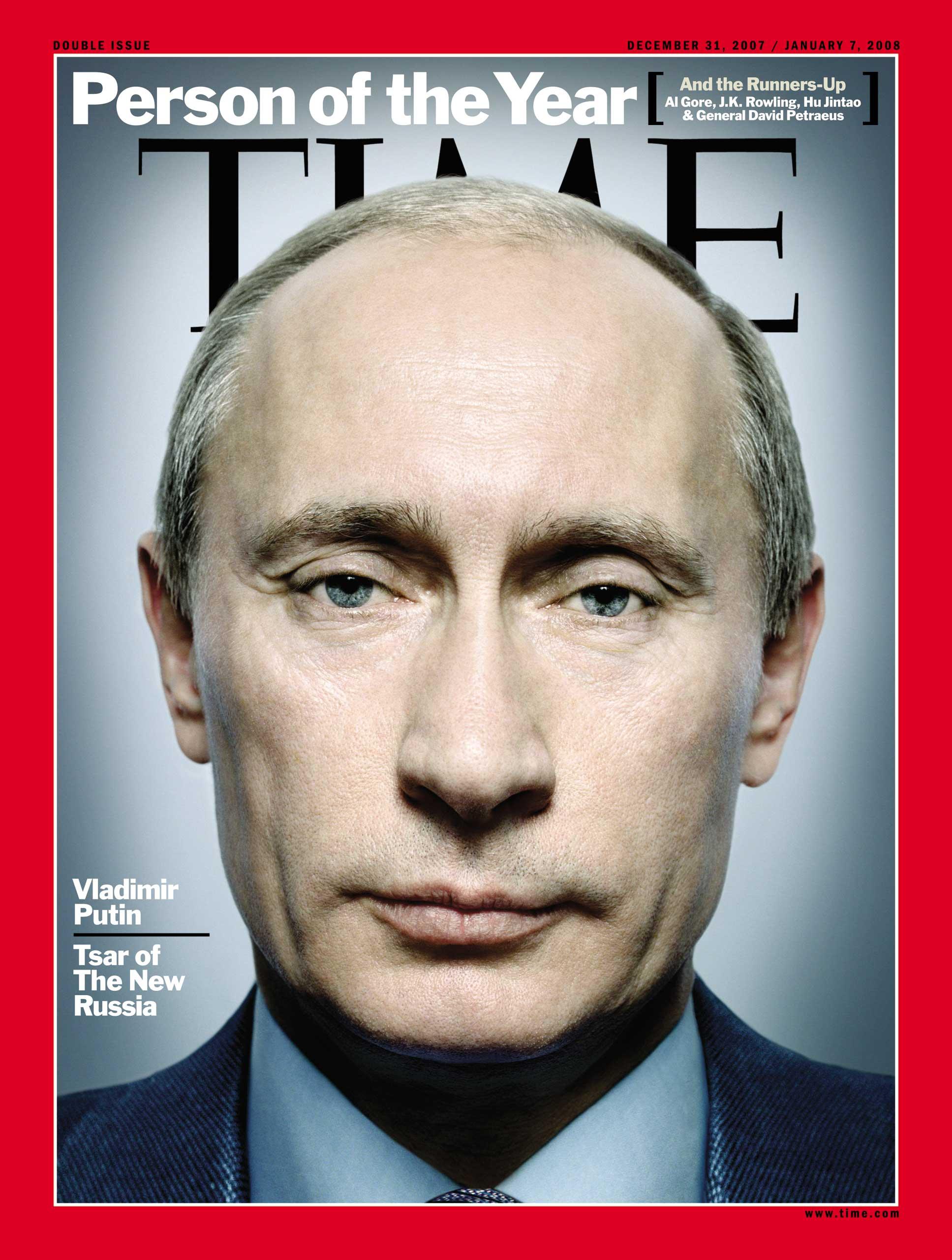 2007: Vladimir Putin