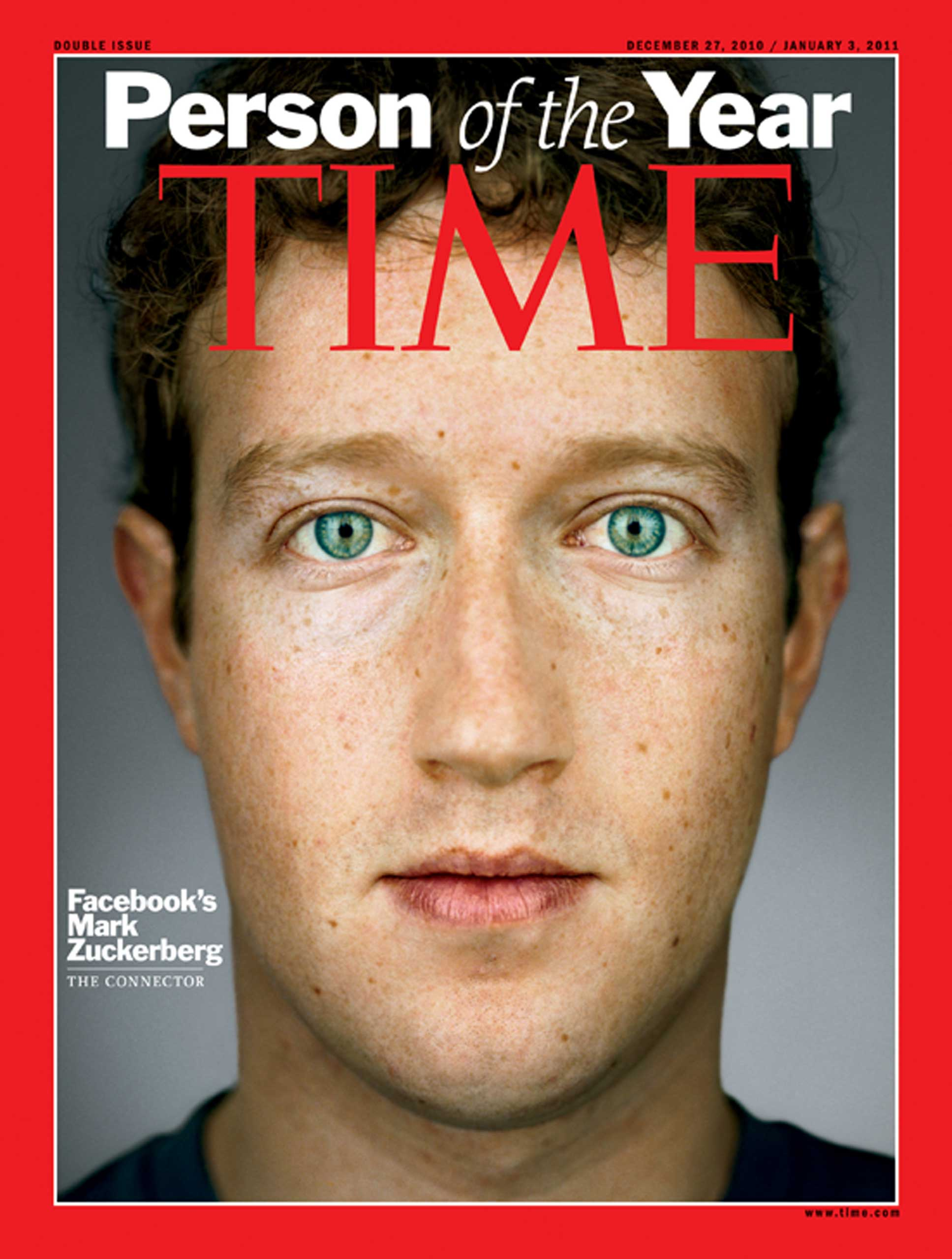 2010: Mark Zuckerberg