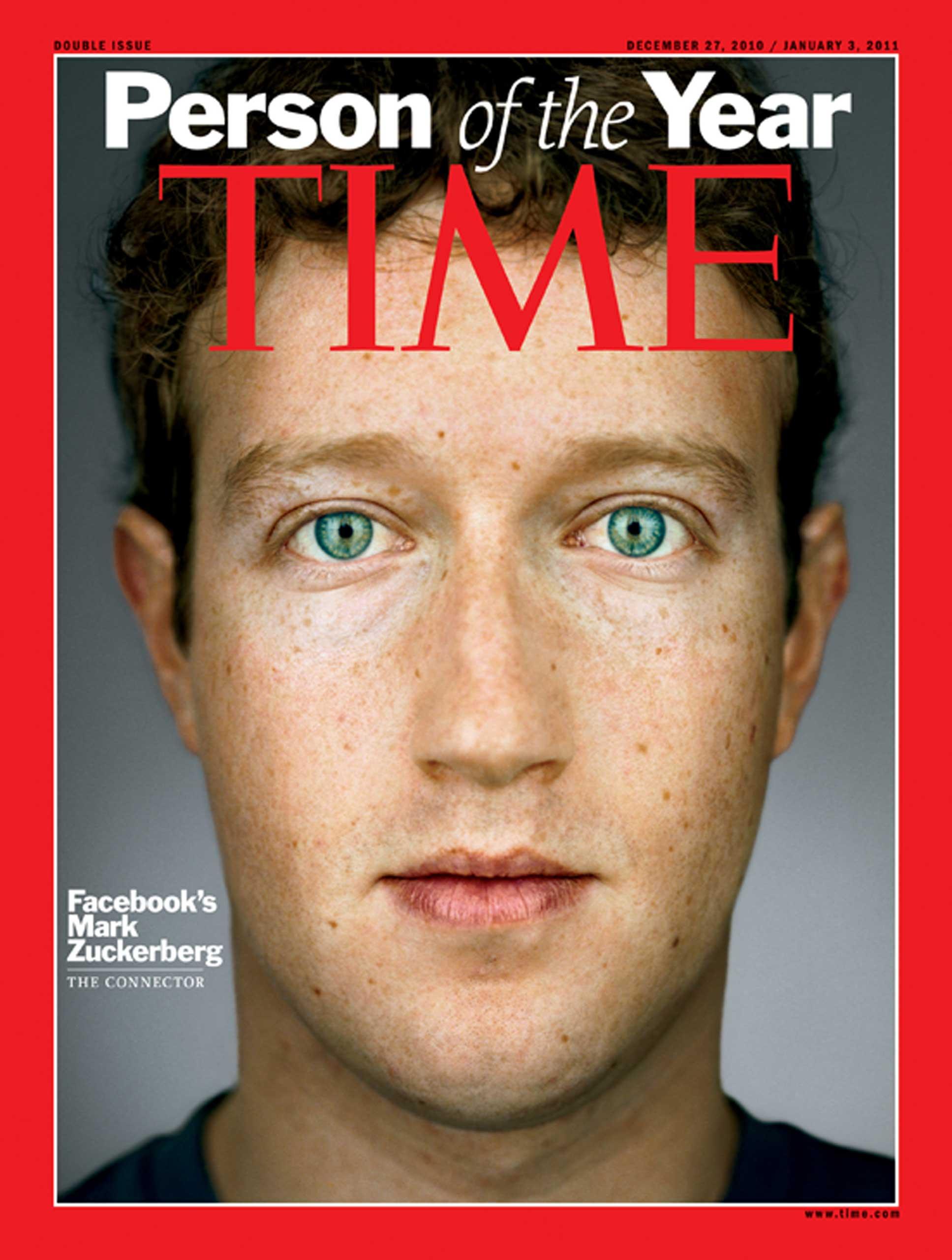 2010: Mark Zuckerberg
