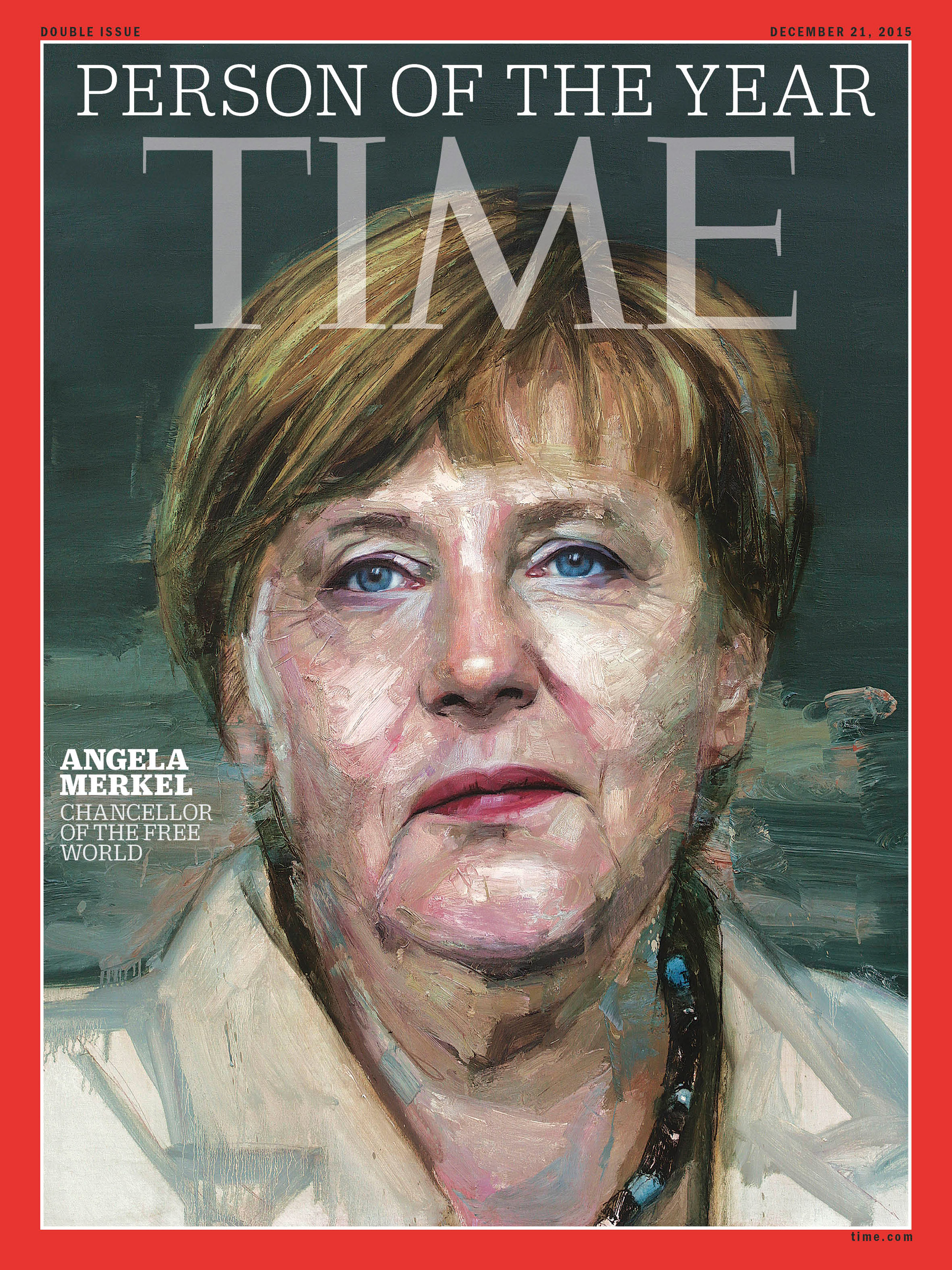 2015: Angela Merkel