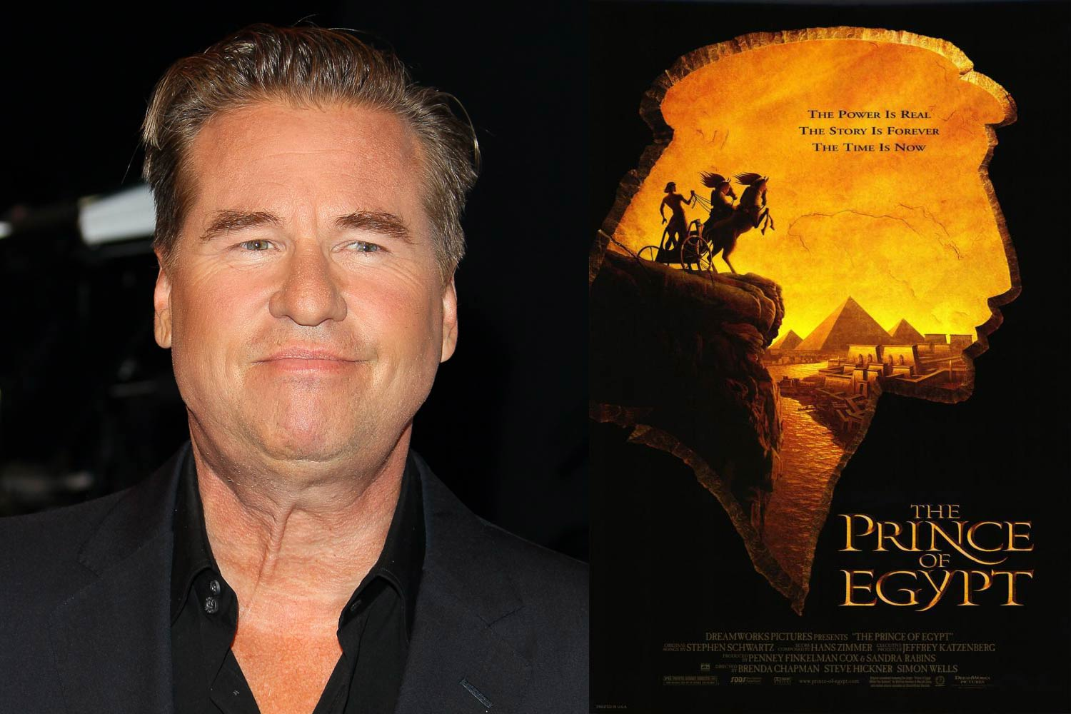 "<strong>Val Kilmer, <i>Prince of Egypt</i></strong>                                   Like John Huston, Kilmer played a double role, inhabiting both Moses and the voice of God, a purposeful statement meant to invoke the manner in which regular people ""hear God."""