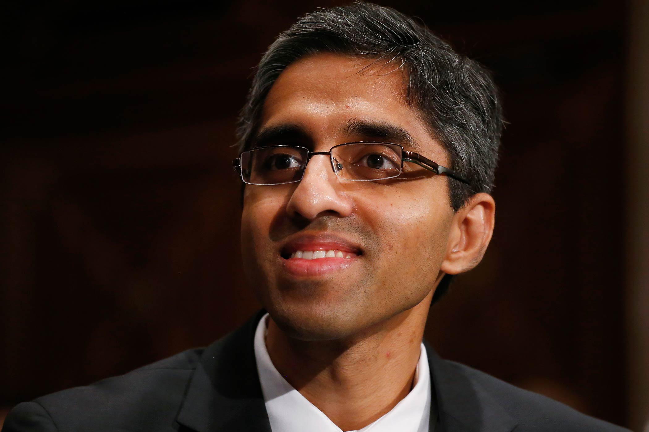 Vivek Murthy testifies on Capitol Hill in Washington on Feb. 4, 2014