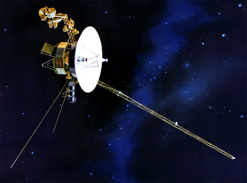 Wow, Voyager: 12 billion miles from home and still very much in the game