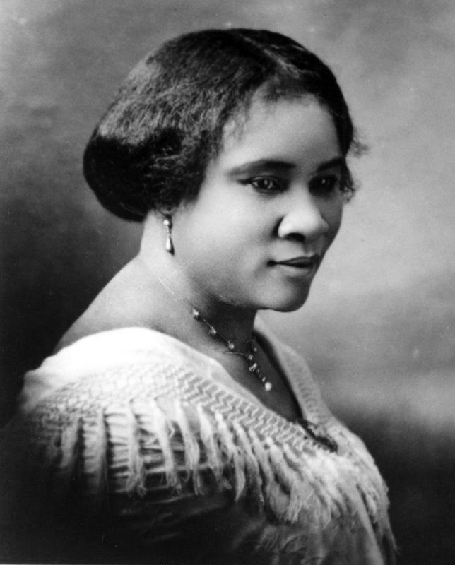 Madam C.J. Walker (Sarah Breedlove), circa 1914