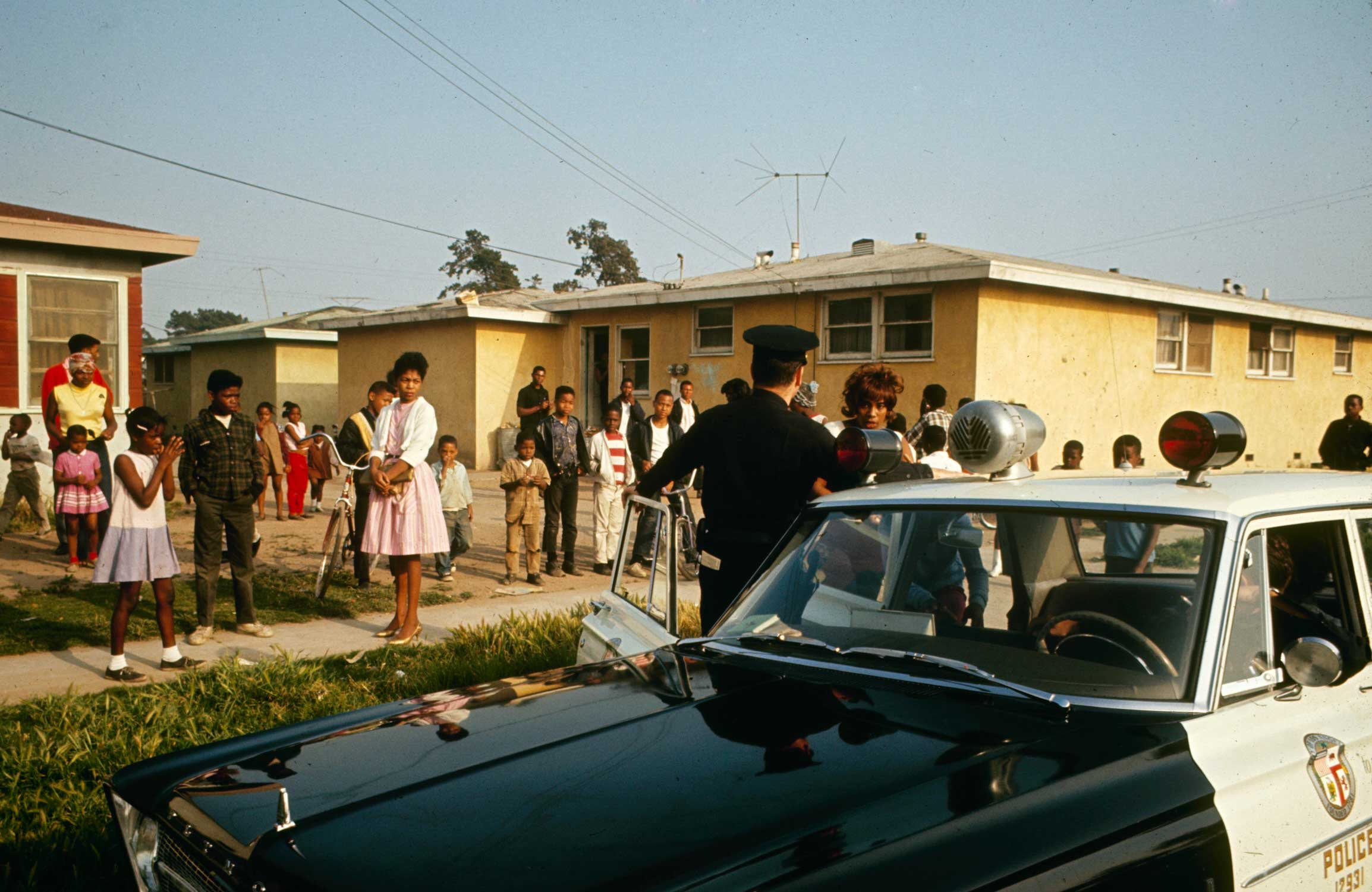 <b>Not published in LIFE.</b> Watts, Los Angeles, 1966.