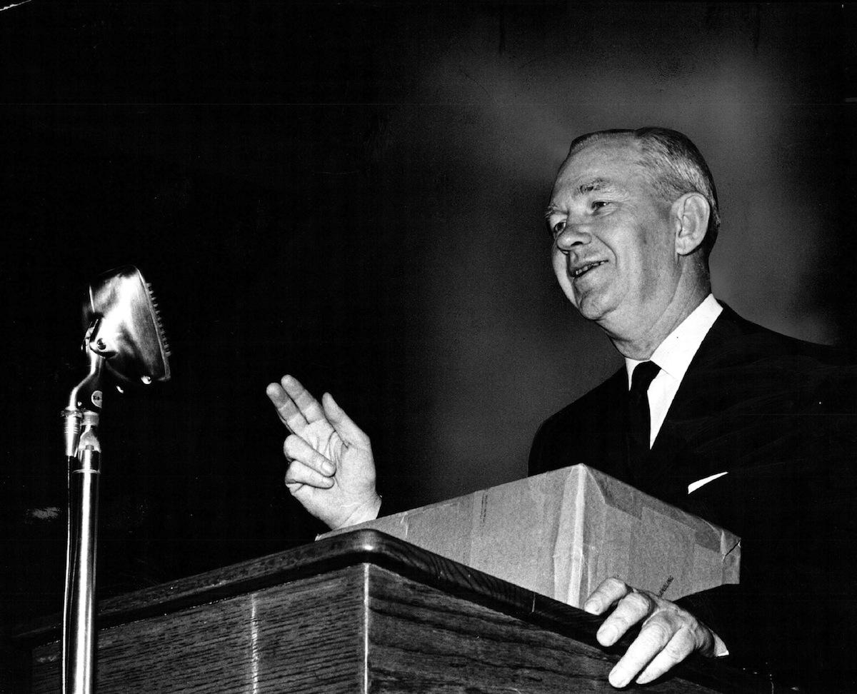 Robert Welch Jr. on June 25, 1961