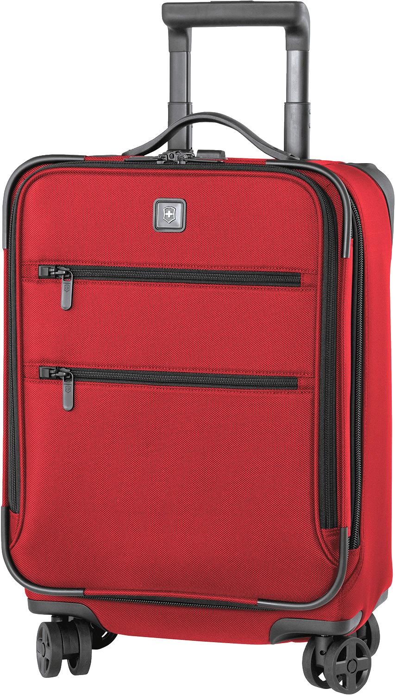 <b>Victorinox</b> Dual-caster trolley. $460; www.swissarmy.com.