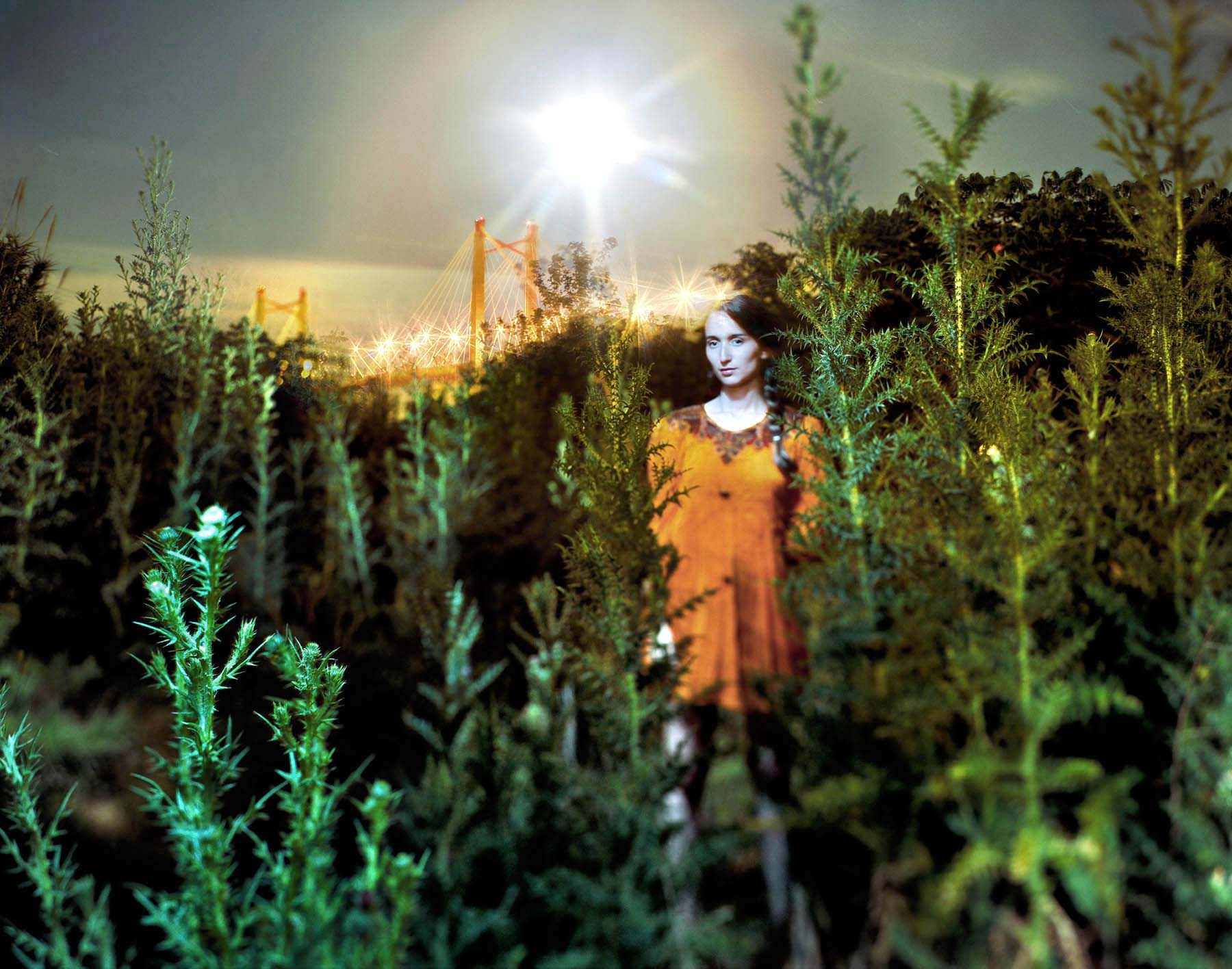 Roland Paiva's Radiance from the series La Creciente