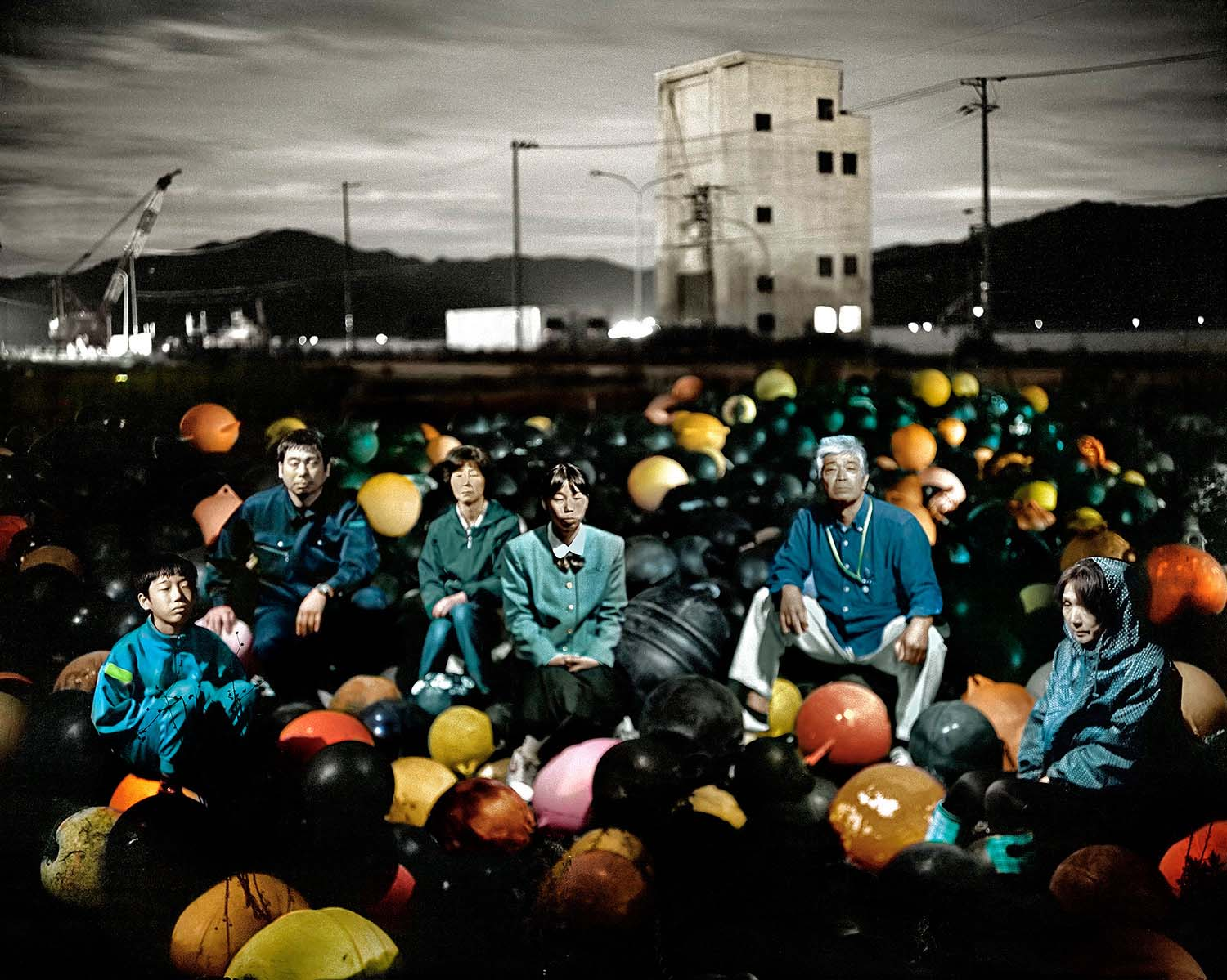 Fish Workers from the series Otsuchi Future Memories
