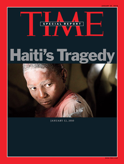 The Jan. 25, 2010, cover of TIME