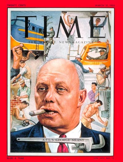 The Mar. 21, 1955, cover of TIME