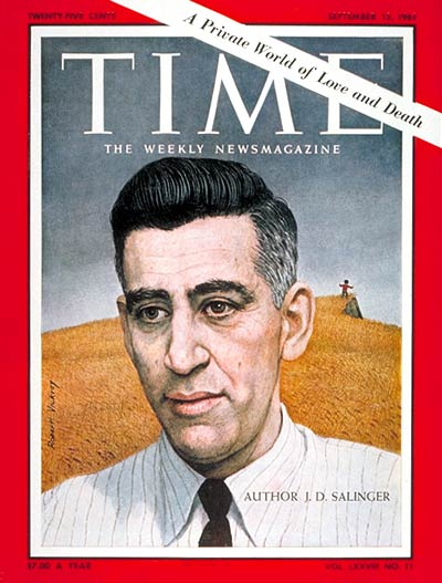 JD Salinger on the Sept. 15, 1961, cover of TIME