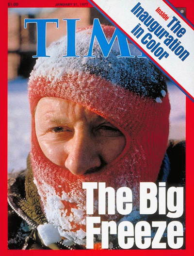 The Jan. 31, 1977, cover of TIME