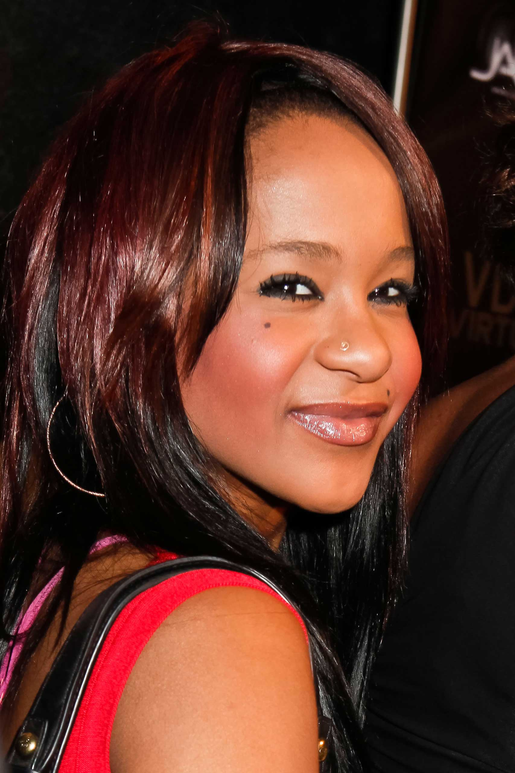 Bobbi Kristina Brown in Hollywood, Feb. 9, 2012.
