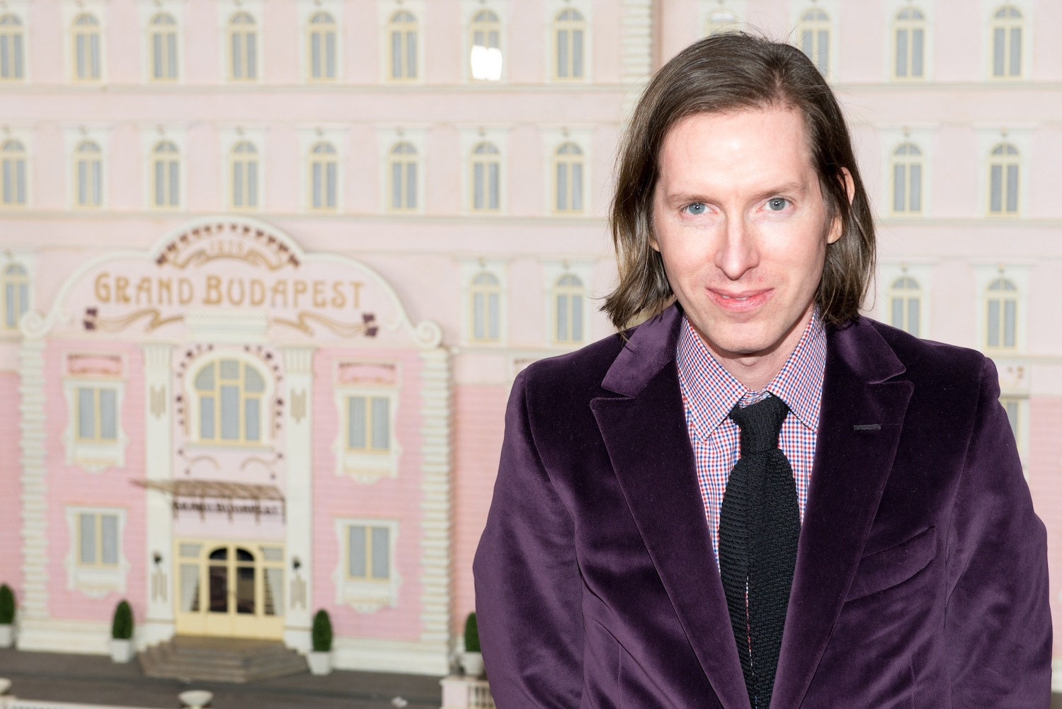 Wes Anderson attends  The Grand Budapest Hotel  premiere at Alice Tully Hall on Feb. 26, 2014 in New York City.