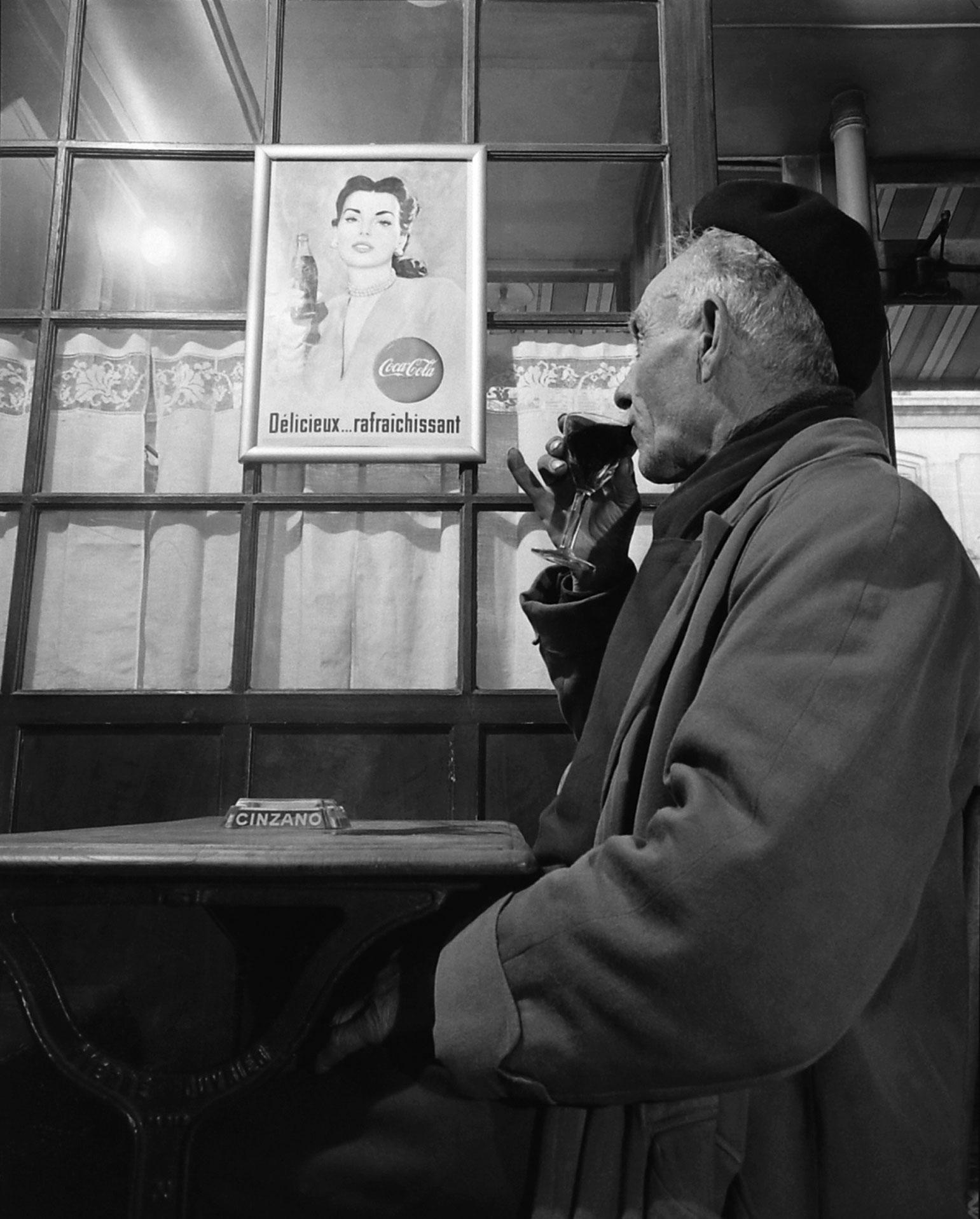 A Frenchman considers Coke's allure in 1950.