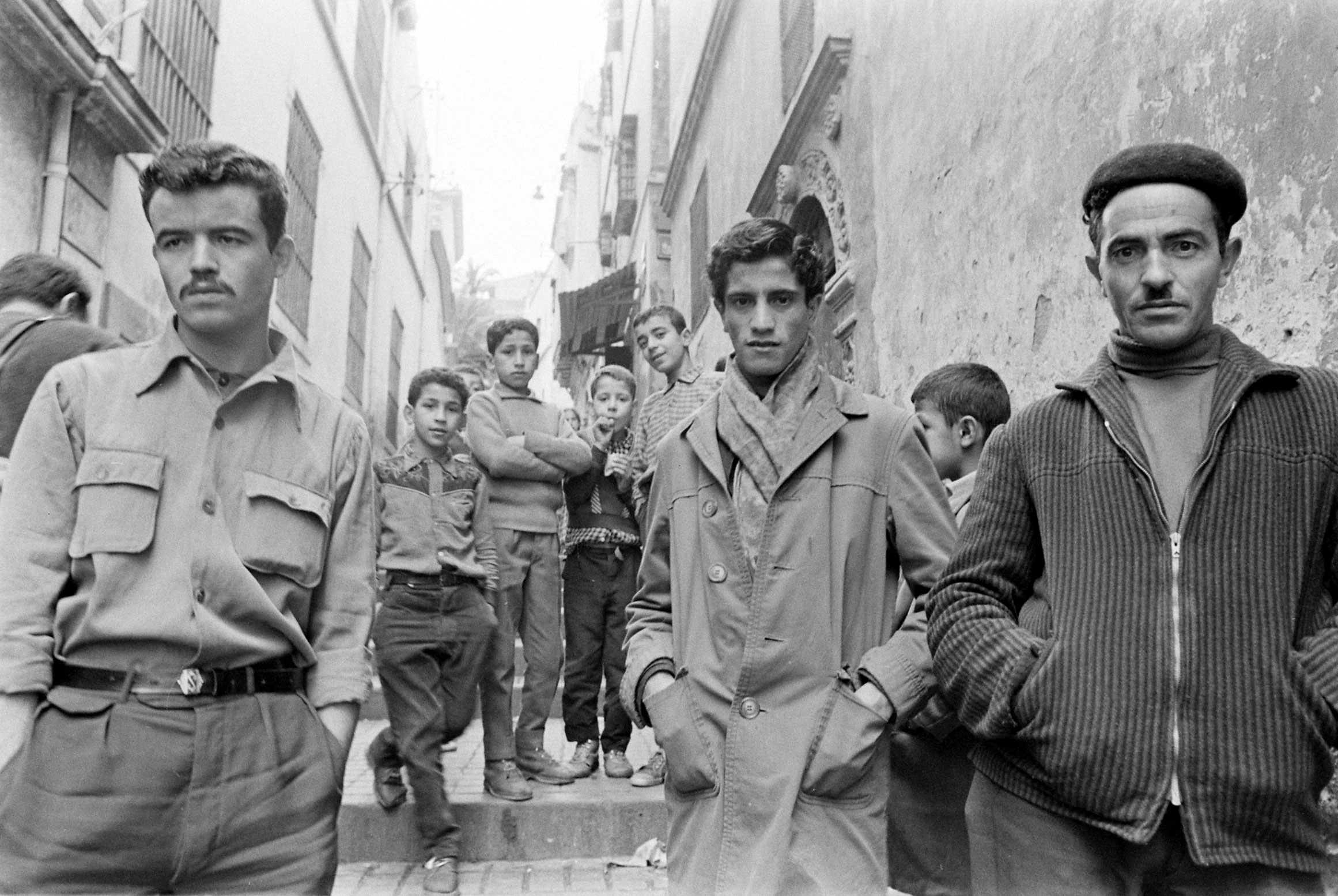 Not published in LIFE. Algiers, March 1962.