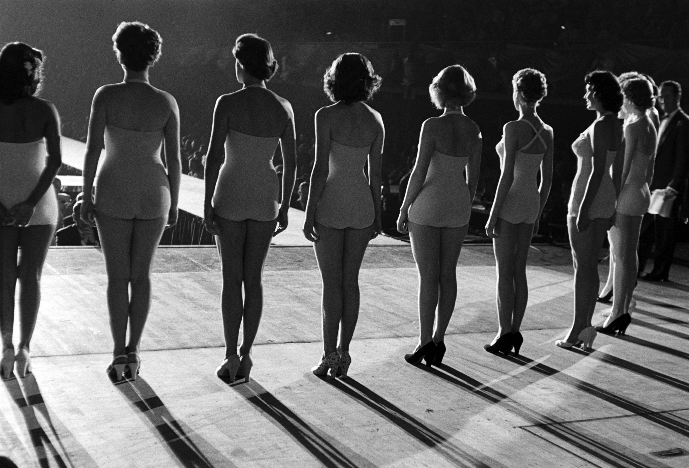 Miss Universe contestants, 1953.