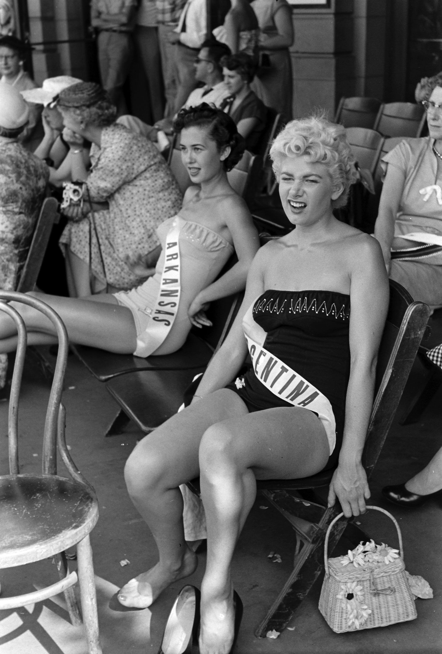 Miss Argentina, 1954.