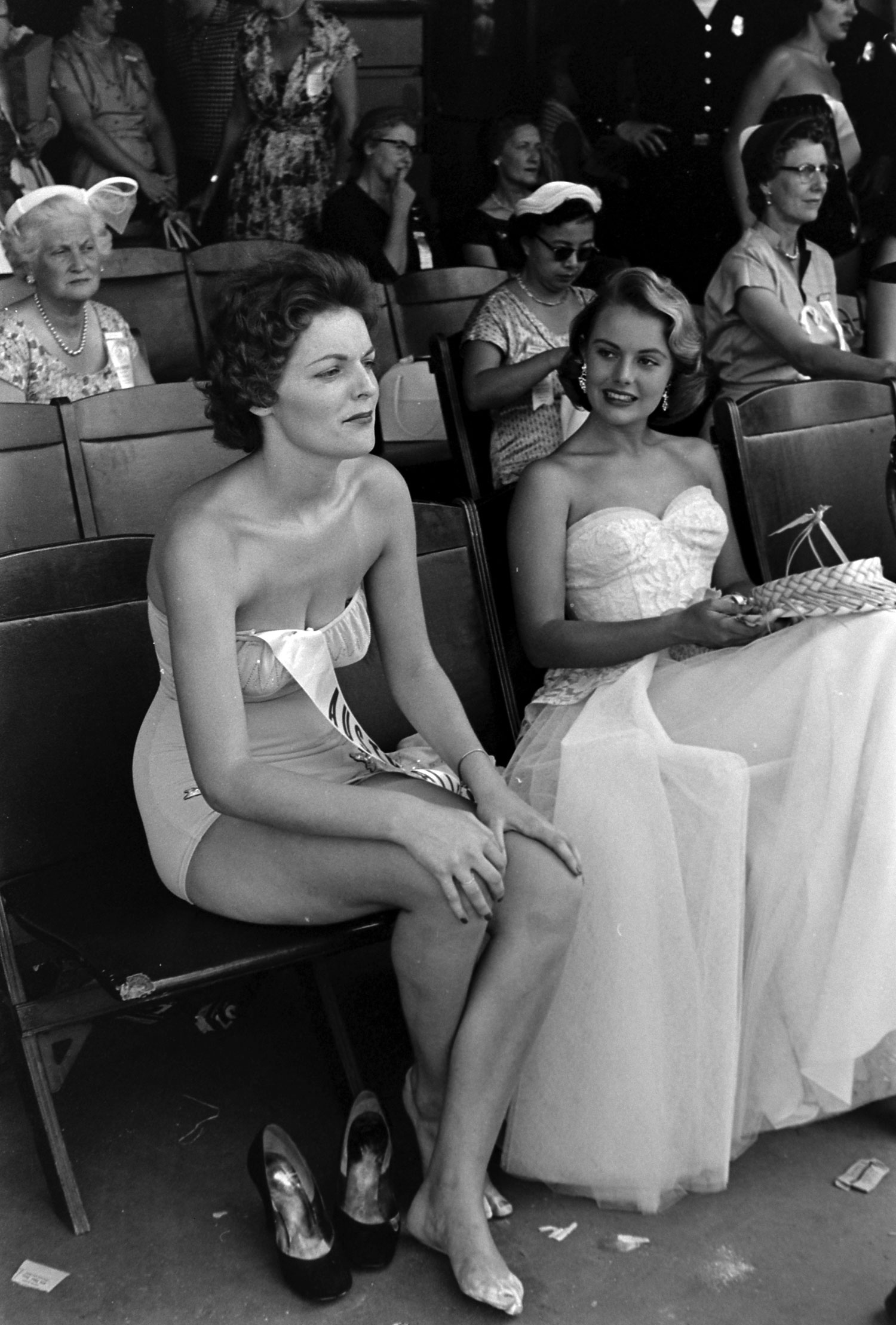 Miss Universe contestants, 1954.
