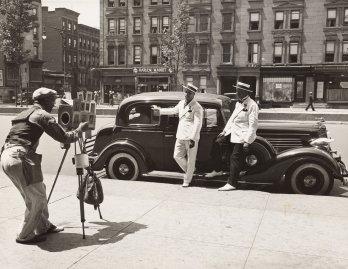 Photographer Zack Brown shooting dapper men in Harlem, ca. 1937