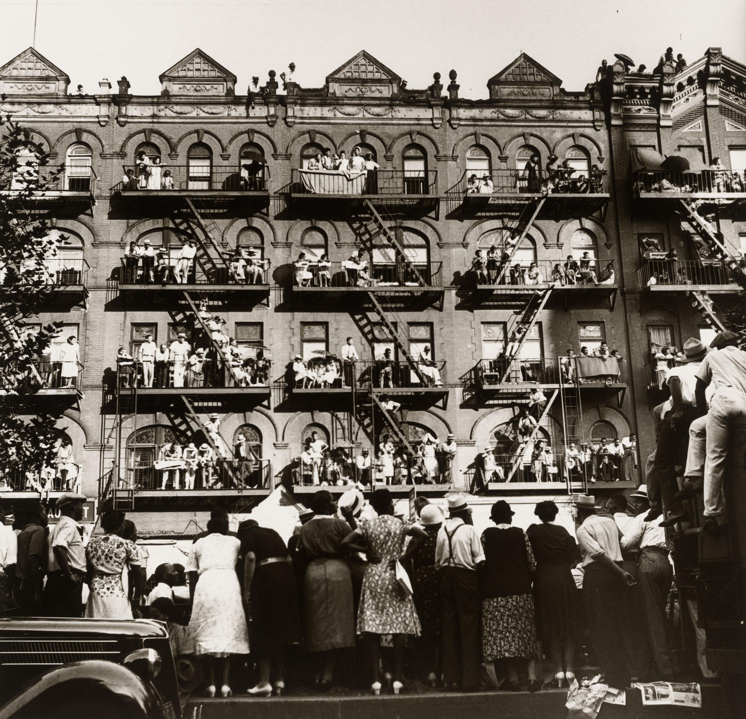 Elks Parade, Harlem, 1938
