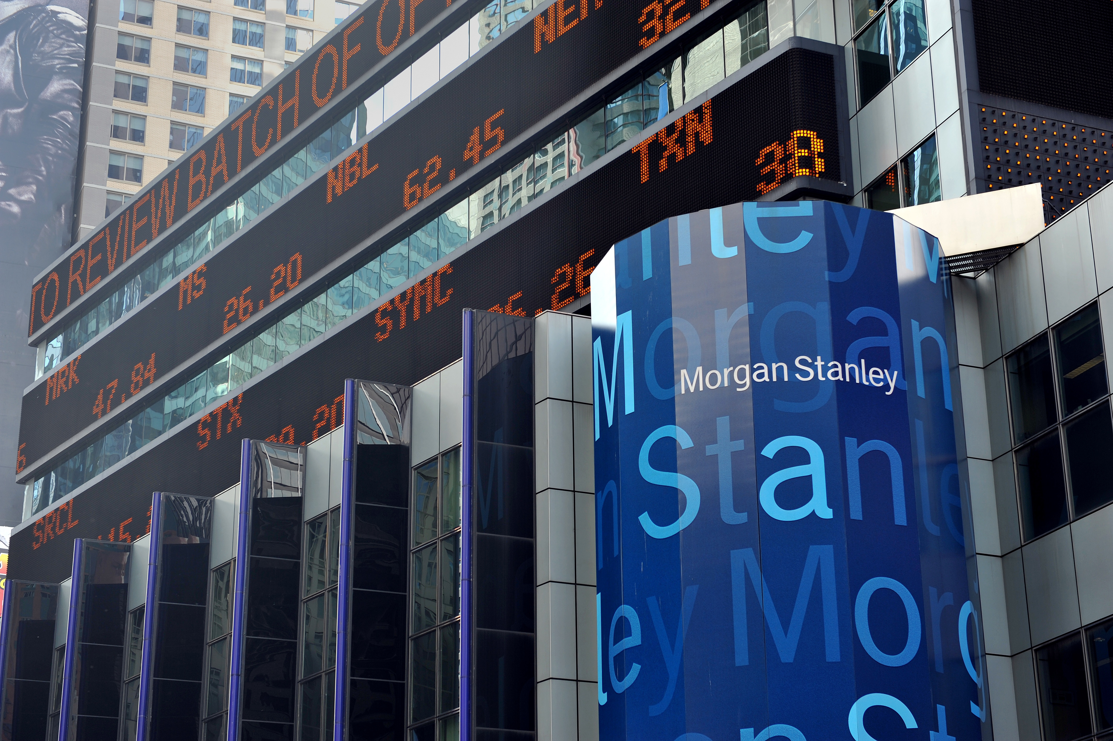 Morgan Stanley headquarters in New York City.