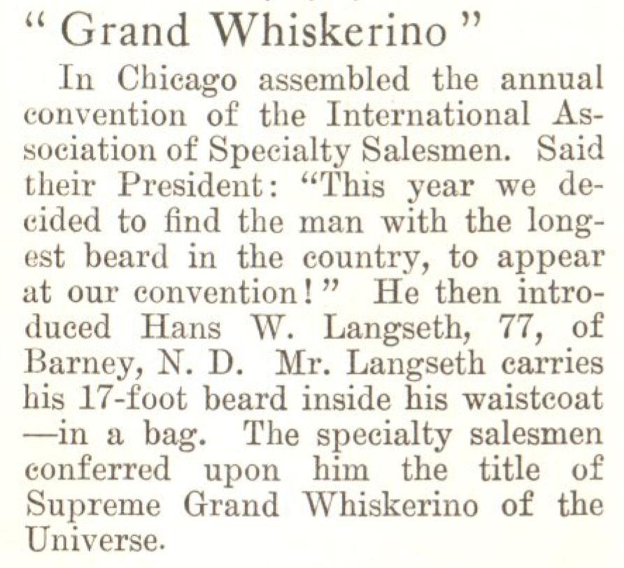 From the July 23, 1923, issue of TIME. Bow down.