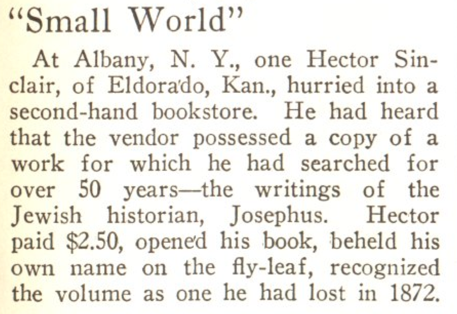 From the Aug. 4, 1924, issue of TIME. They say if you love something, let it go.