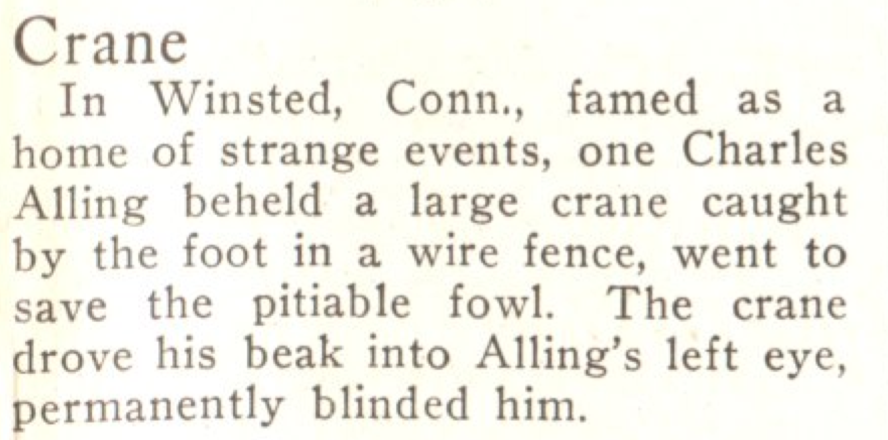 Again from the May 25, 1925, issue of TIME. It must have been a rough week.