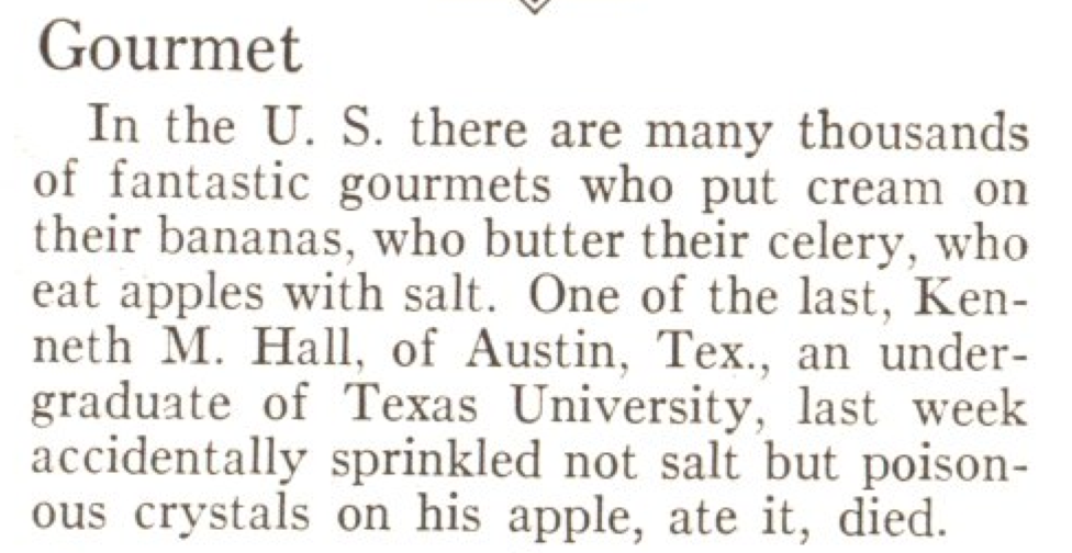 From the Dec. 10, 1928, issue of TIME