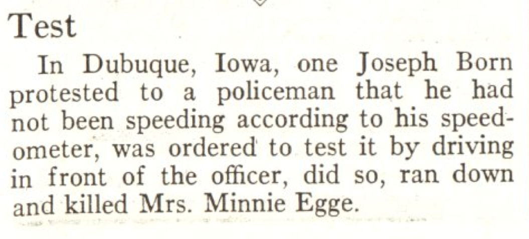 From the Dec. 9, 1929, issue of TIME