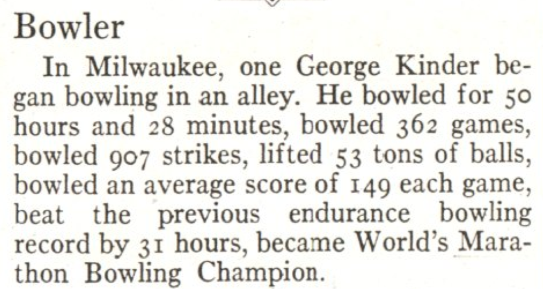From the Feb. 3, 1930, issue of TIME. He must have had plenty of spare time.