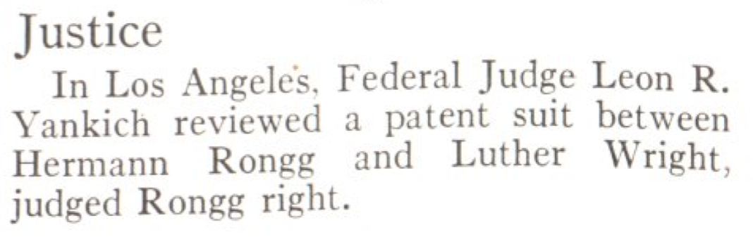 From the Jan. 25, 1937, issue of TIME. He wasn't Yankich-ing anyone's chain.
