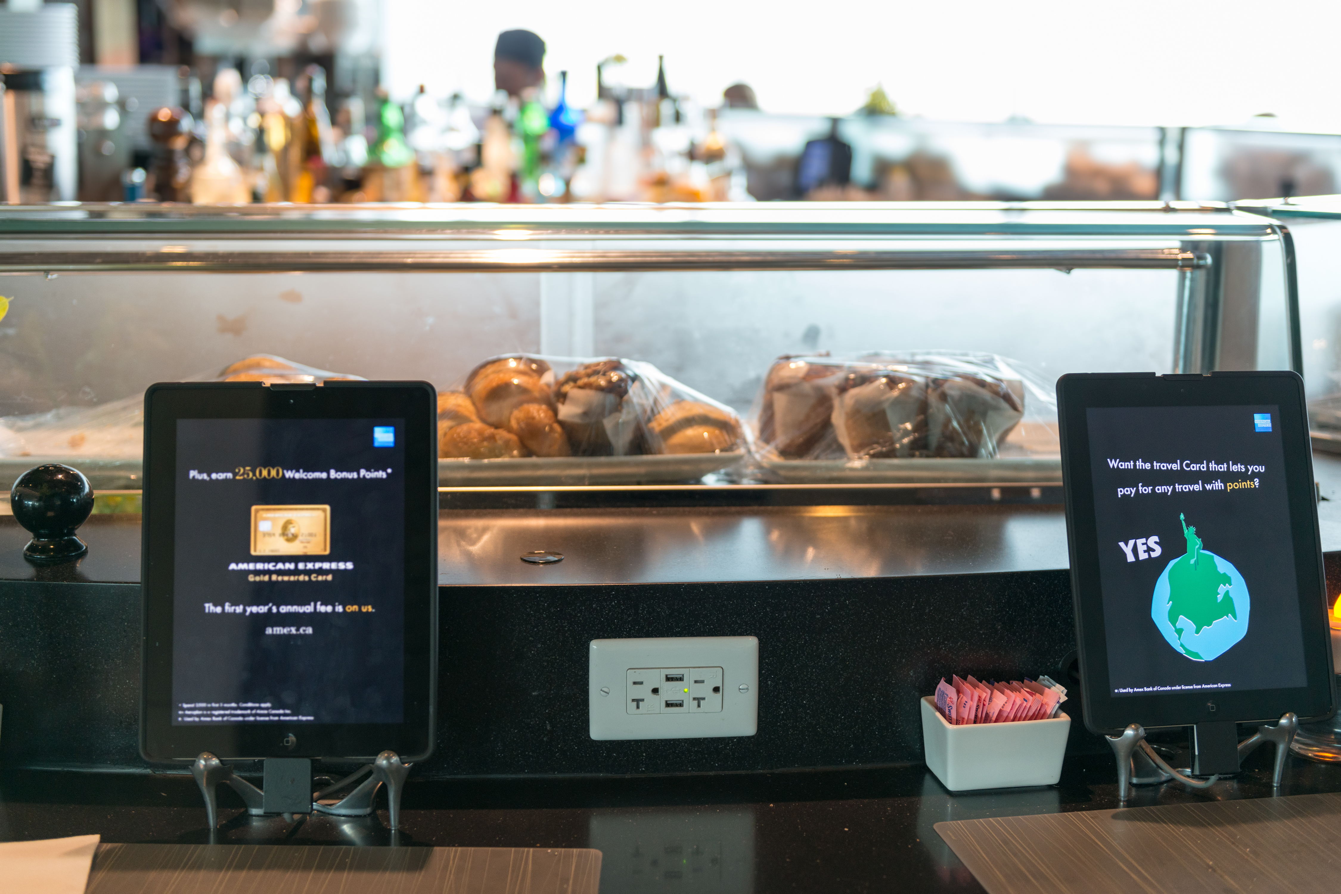 Restaurants are starting to use digital technology for self serving regarding the customer seeing their menu, ordering and paying their bill.