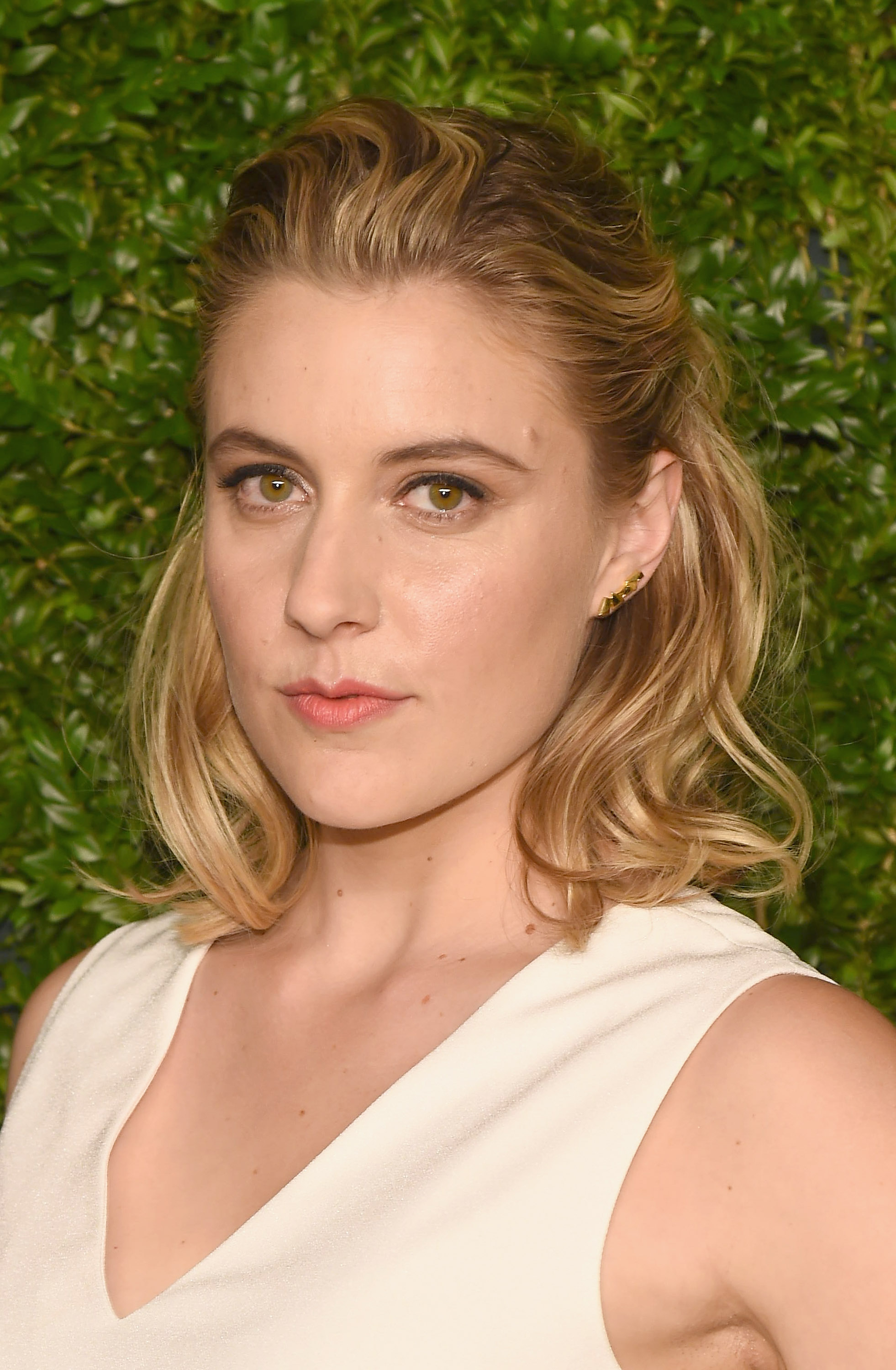 Actress Greta Gerwig attends The 11th Annual CFDA/Vogue Fashion Fund Awards at Spring Studios on November 3, 2014 in New York City.