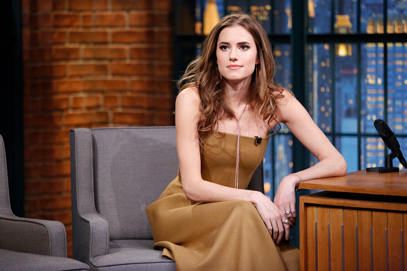 Actress Allison Williams during an interview on Nov. 26, 2014