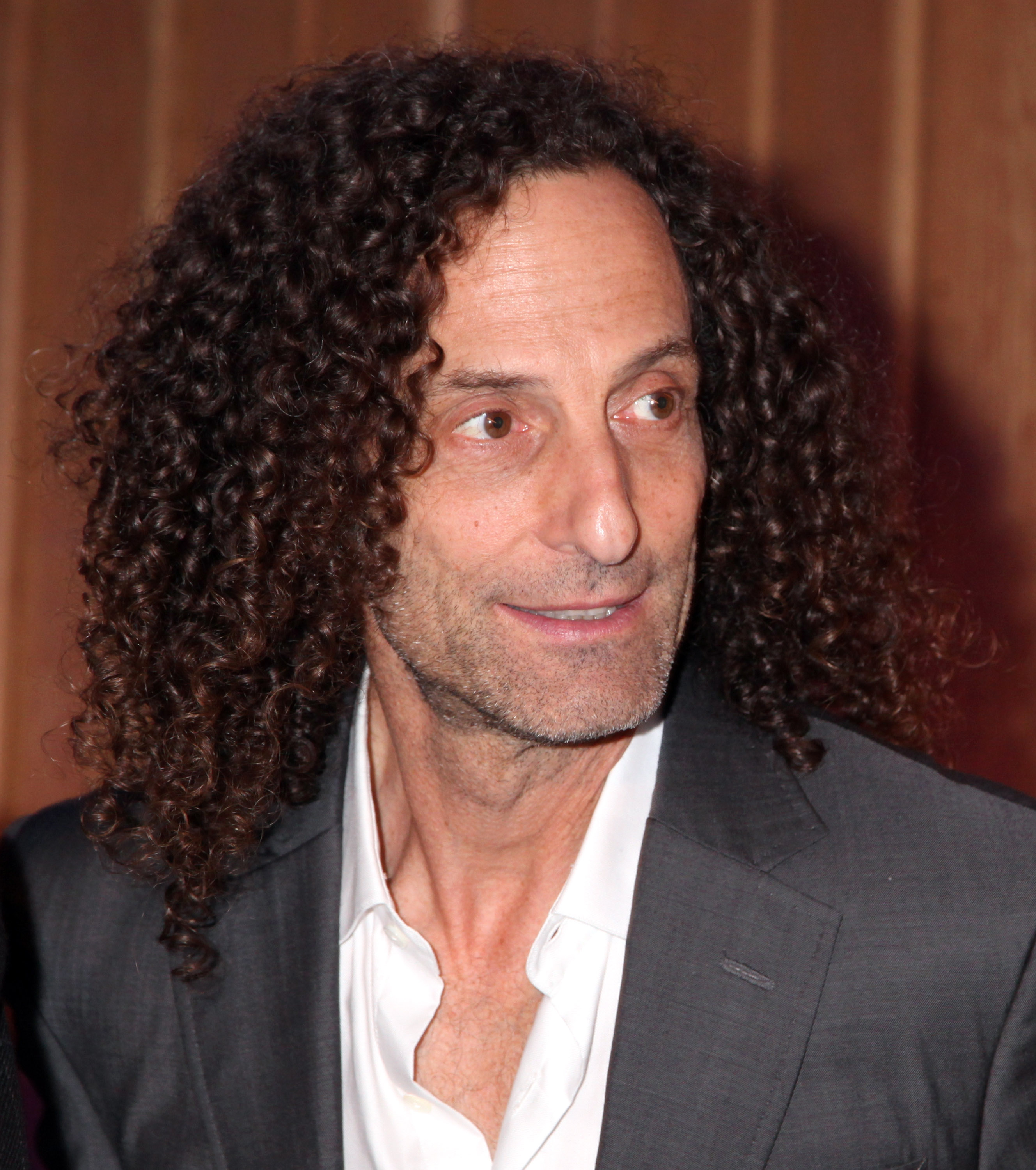 Musician Kenny G at Capitol Records Studio on December 17, 2014 in Hollywood, California.