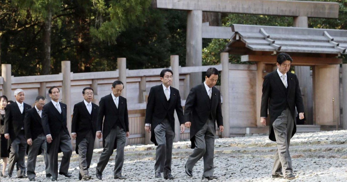 time.com: Japan's Abe Will Express Remorse on 70th Anniversary of WWII Surrender